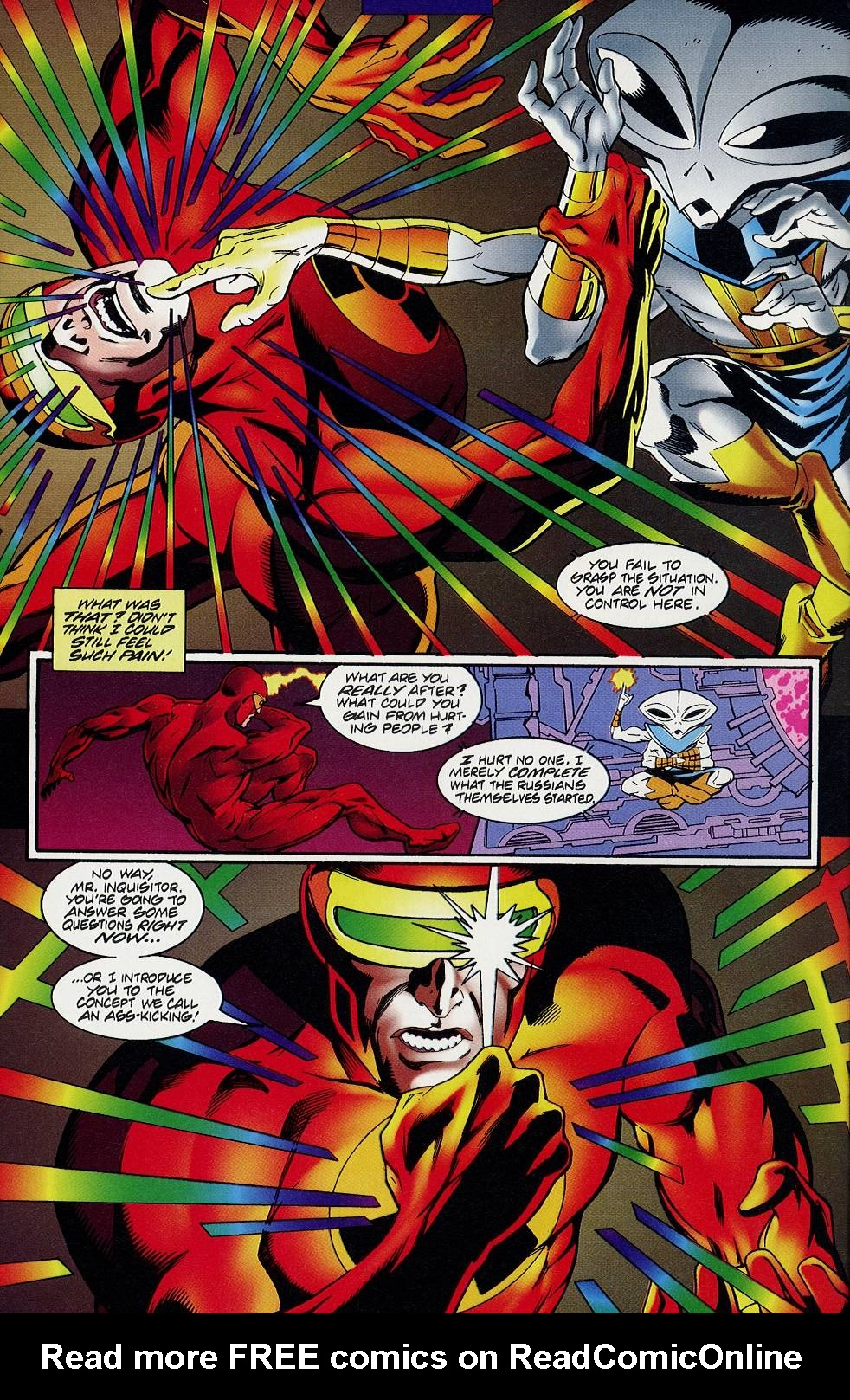 Read online Solar, Man of the Atom comic -  Issue #58 - 8