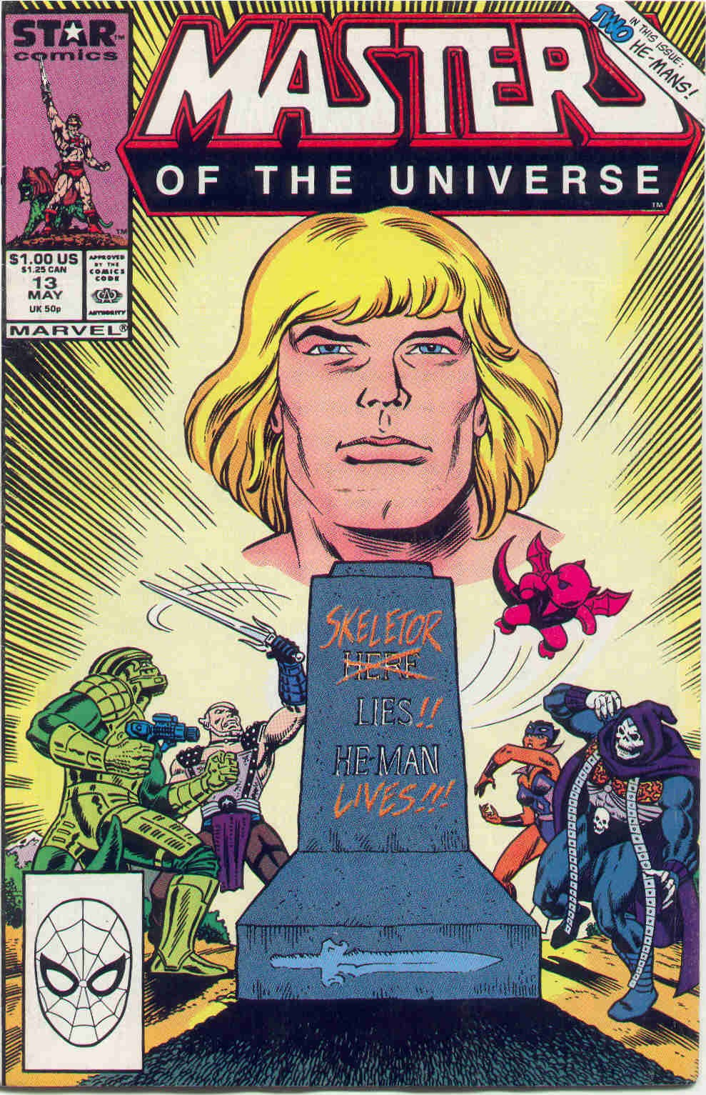 Masters of the Universe (1986) 13 Page 1