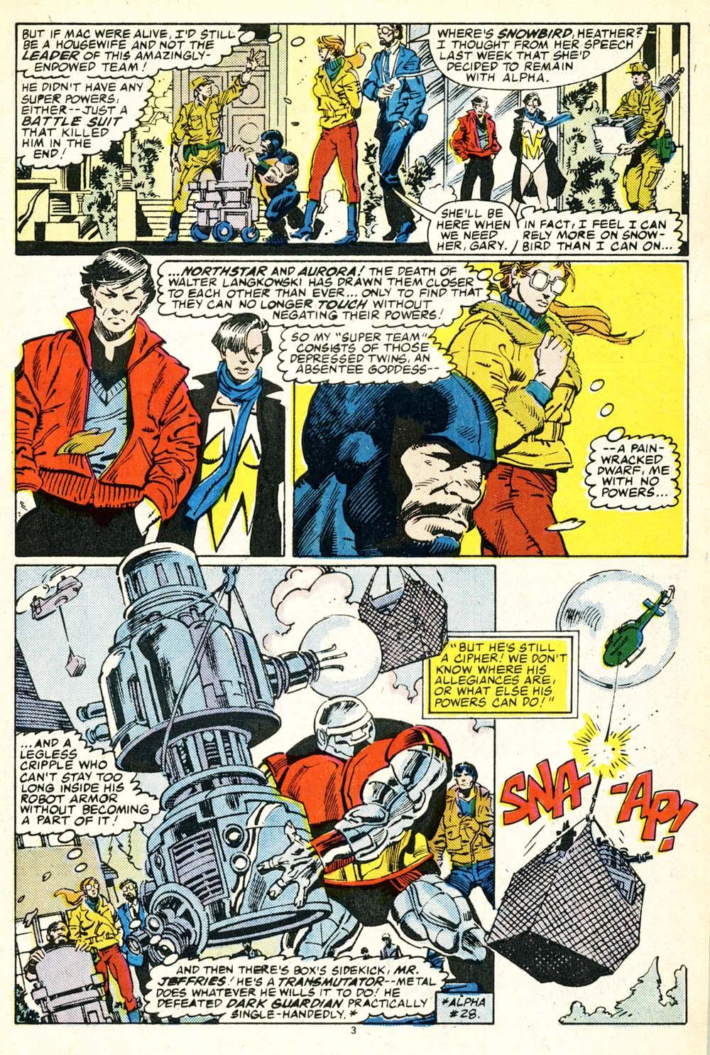 Read online Alpha Flight (1983) comic -  Issue #30 - 4