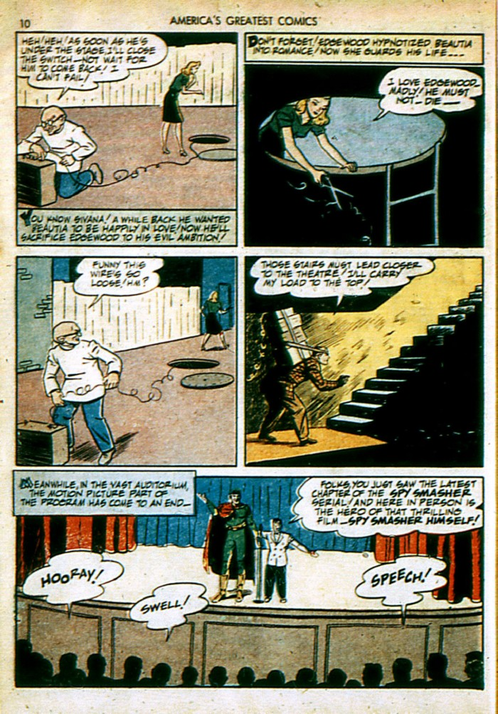 Read online America's Greatest Comics comic -  Issue #4 - 10