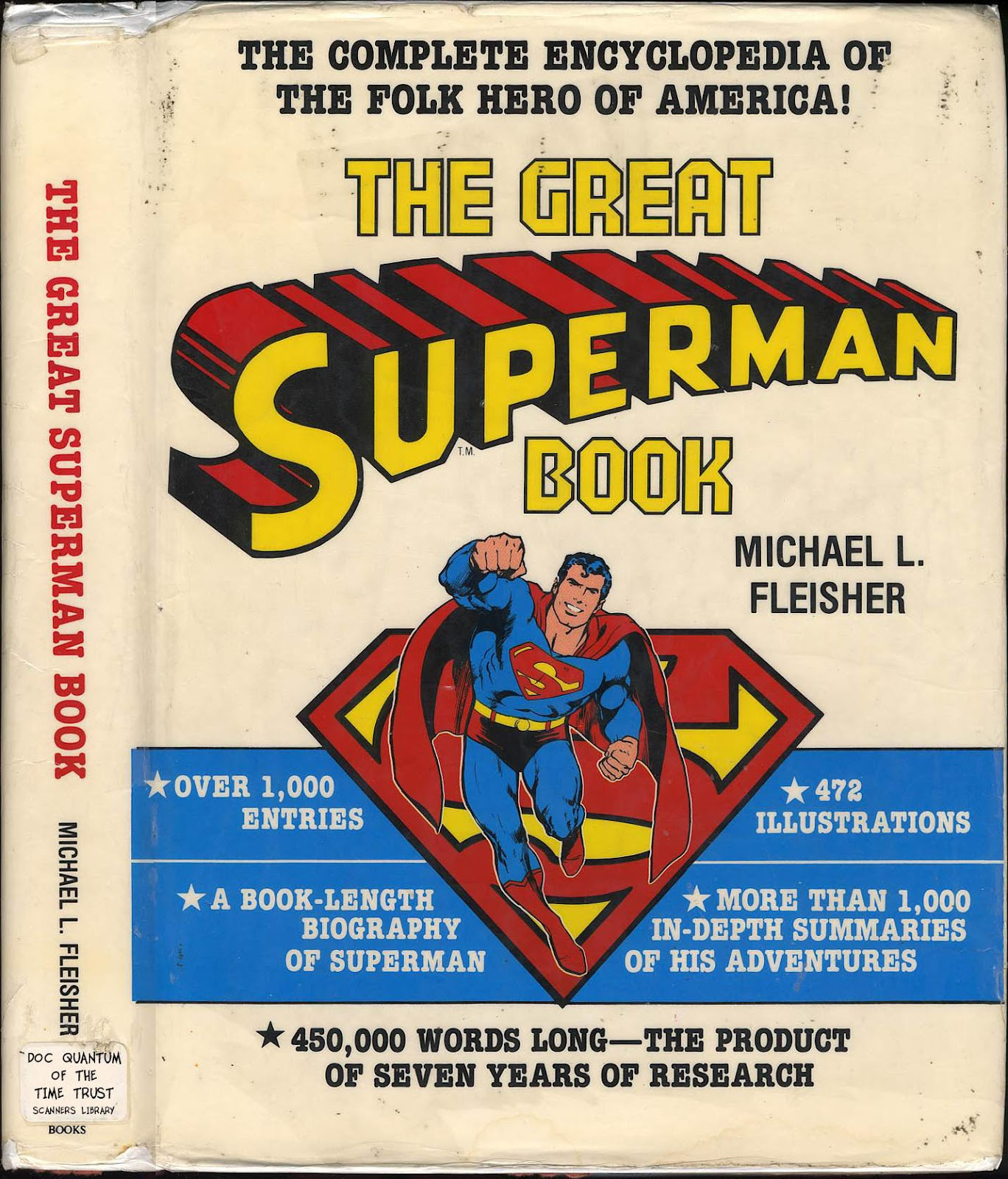 The Great Superman Book issue TPB (Part 1) - Page 1