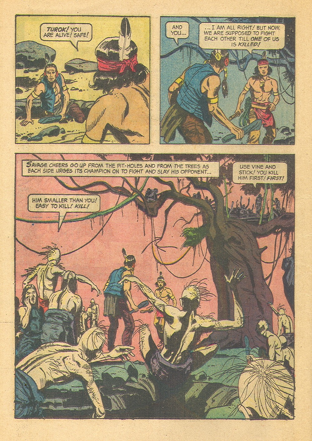 Read online Turok, Son of Stone comic -  Issue #39 - 24