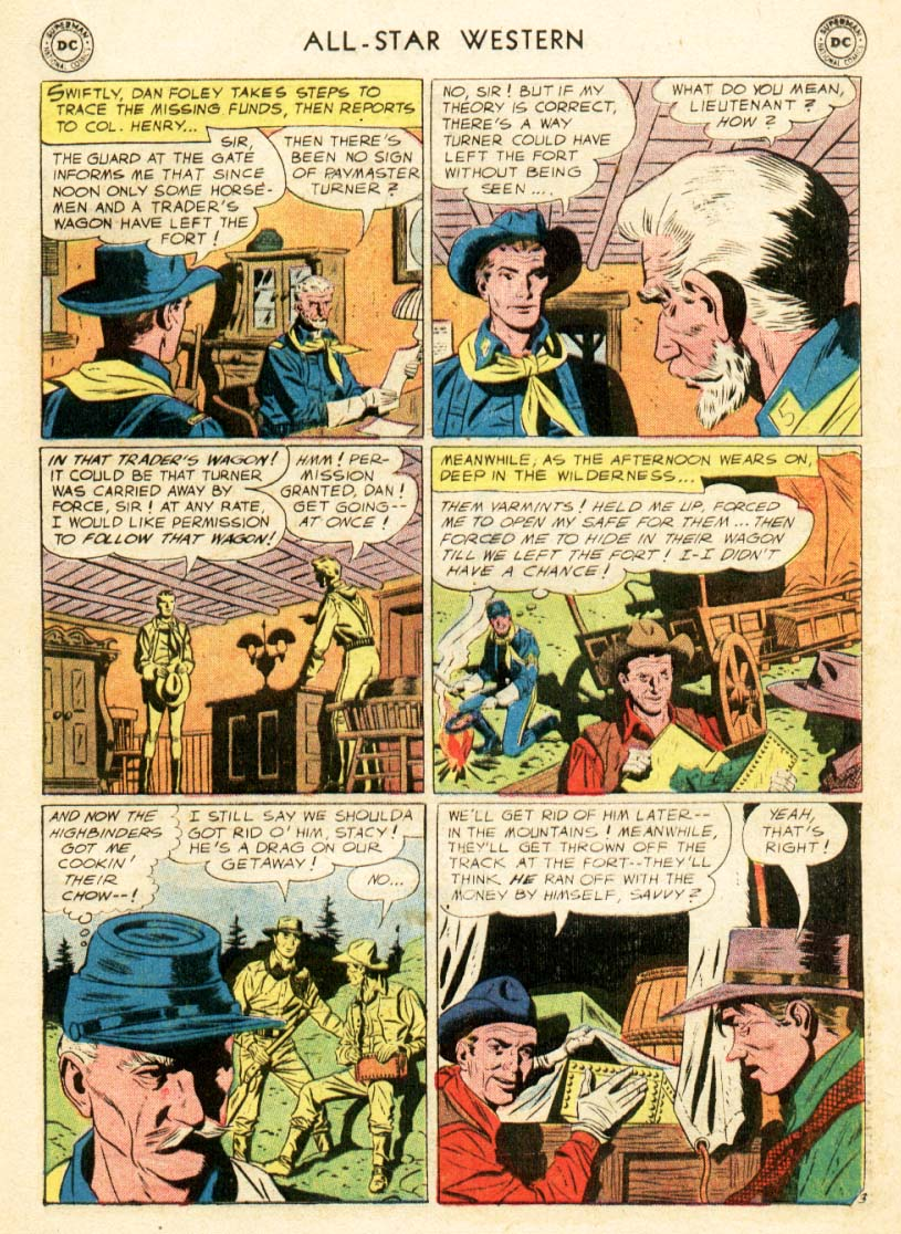 Read online All-Star Western (1951) comic -  Issue #97 - 17