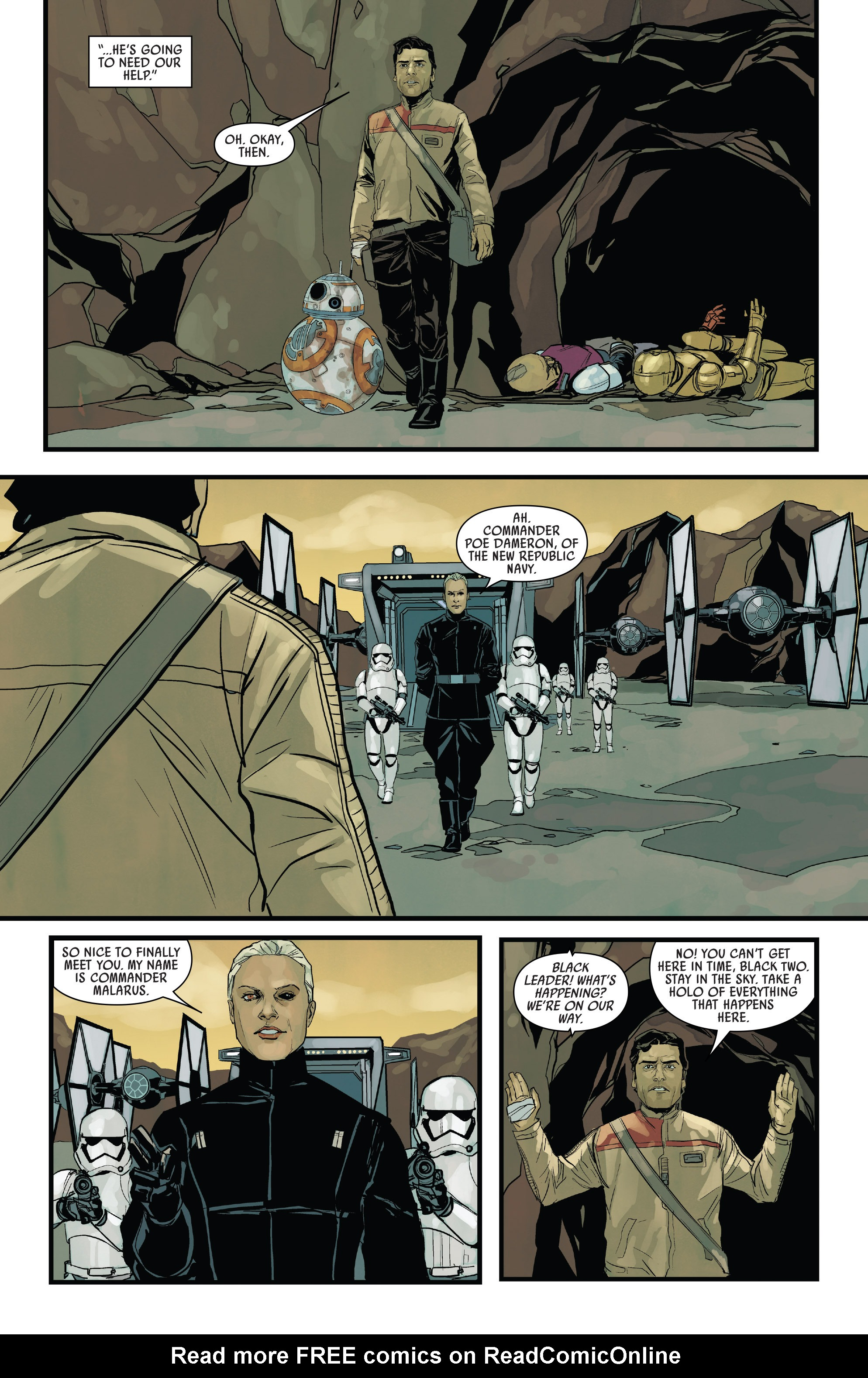 Read online Star Wars: Poe Dameron comic -  Issue #13 - 20