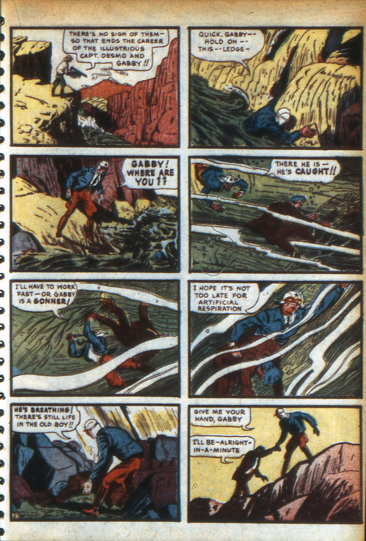 Read online Adventure Comics (1938) comic -  Issue #47 - 38