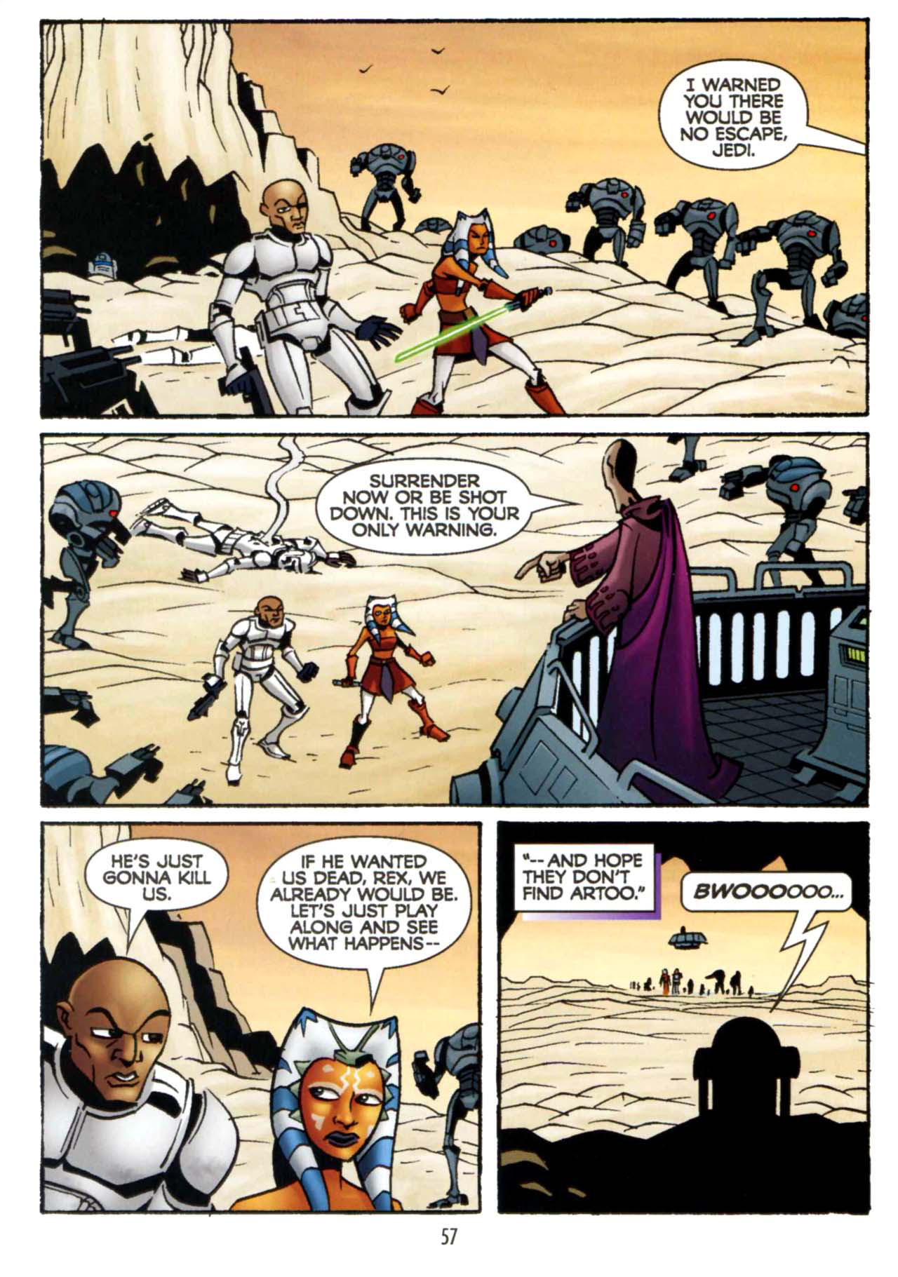 Read online Star Wars: The Clone Wars - Shipyards of Doom comic -  Issue # Full - 55