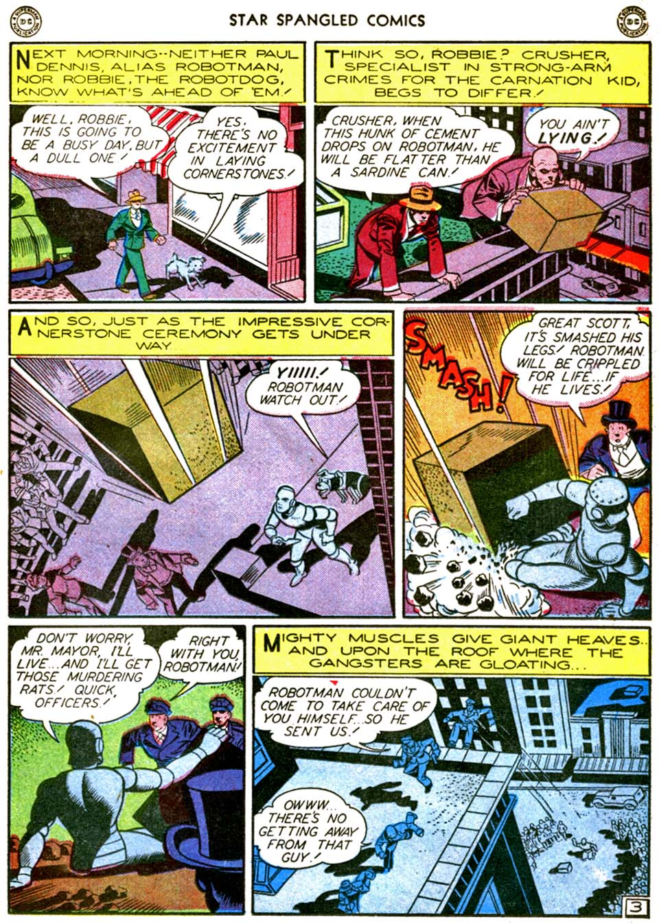 Star Spangled Comics (1941) issue 56 - Page 17