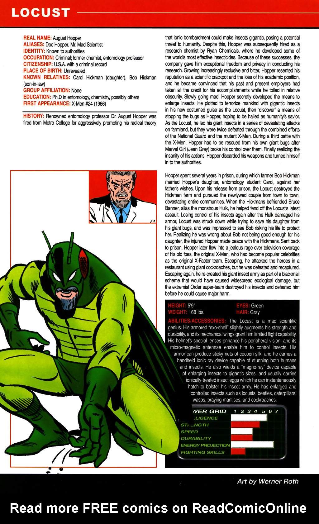 Read online All-New Official Handbook of the Marvel Universe A to Z comic -  Issue #6 - 32