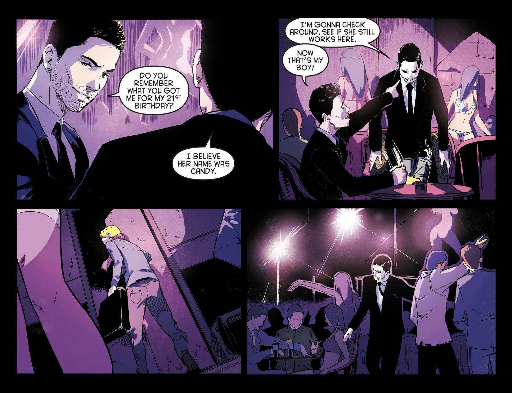 Read online Arrow [II] comic -  Issue #7 - 14