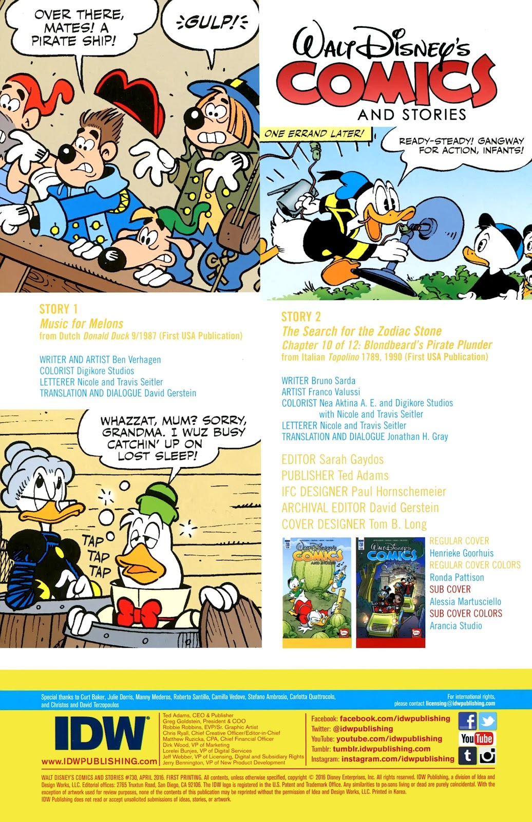 Walt Disney's Comics and Stories issue 730 - Page 2