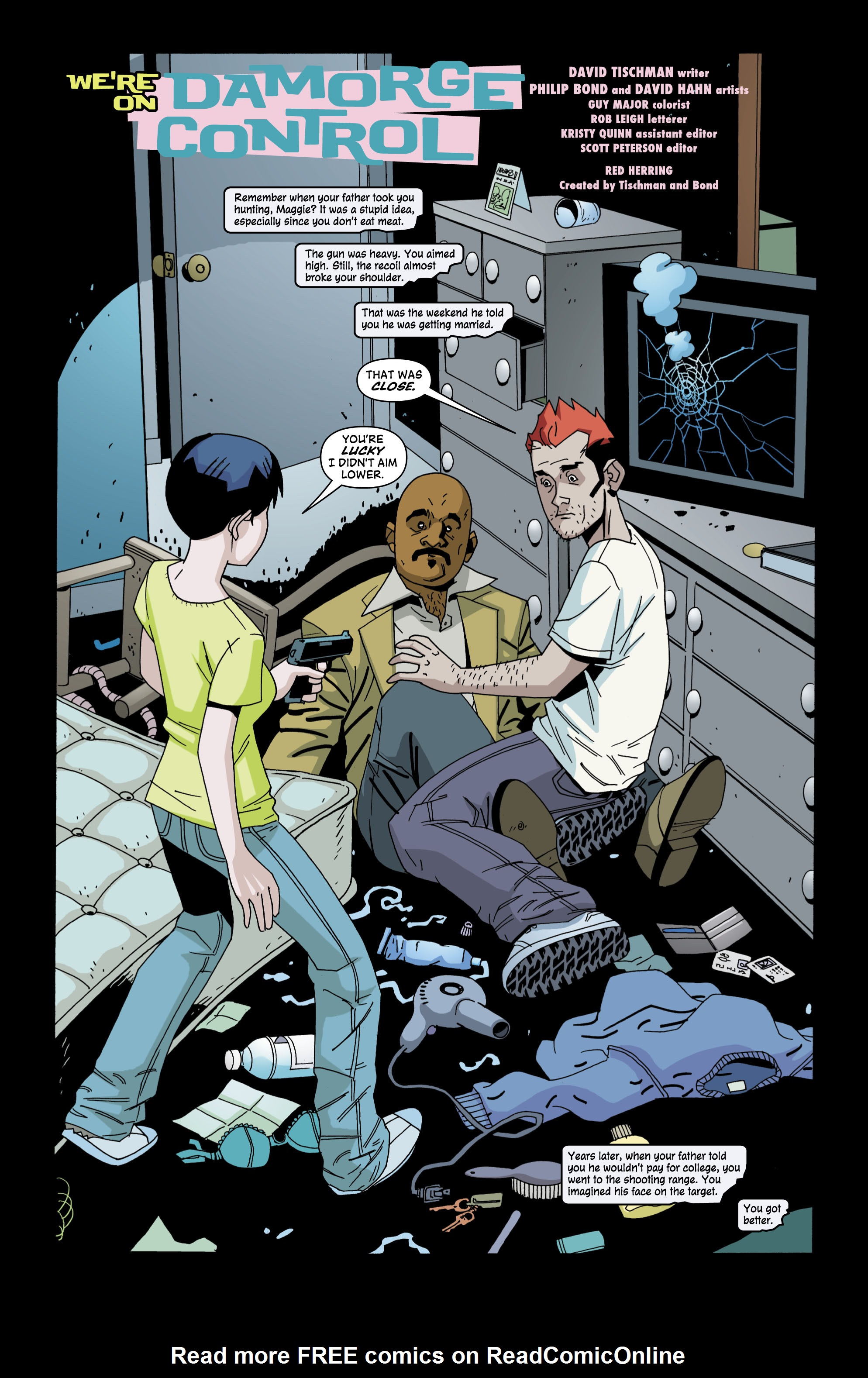 Read online Red Herring comic -  Issue #4 - 2