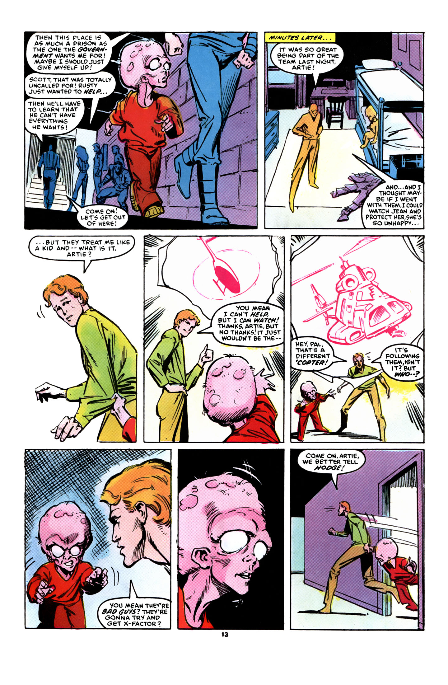 Read online X-Factor (1986) comic -  Issue #8 - 14