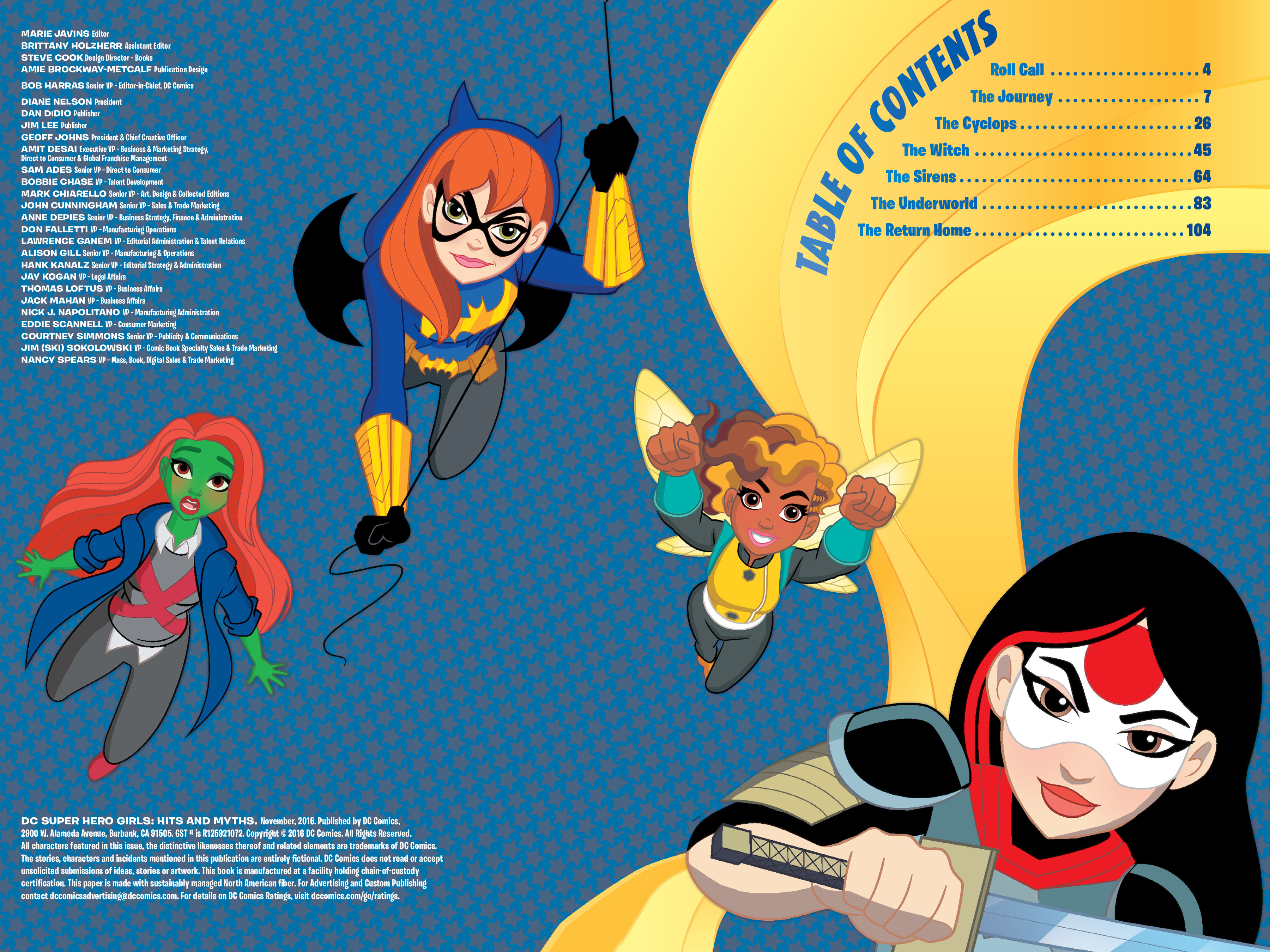 Read online DC Super Hero Girls: Hits and Myths comic -  Issue # Full - 3
