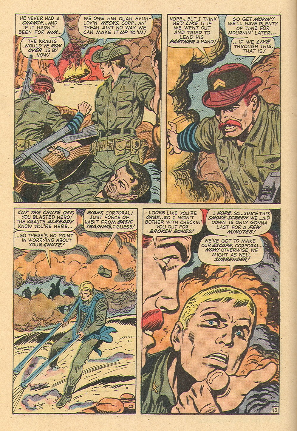 Read online Sgt. Fury comic -  Issue #97 - 16