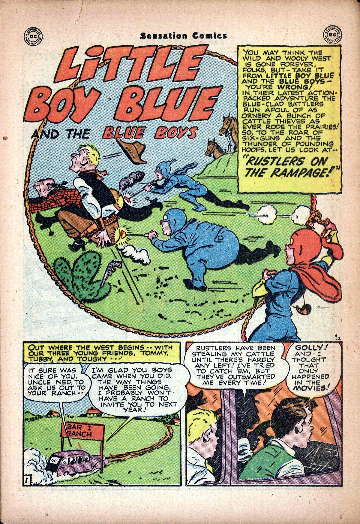 Read online Sensation (Mystery) Comics comic -  Issue #62 - 17