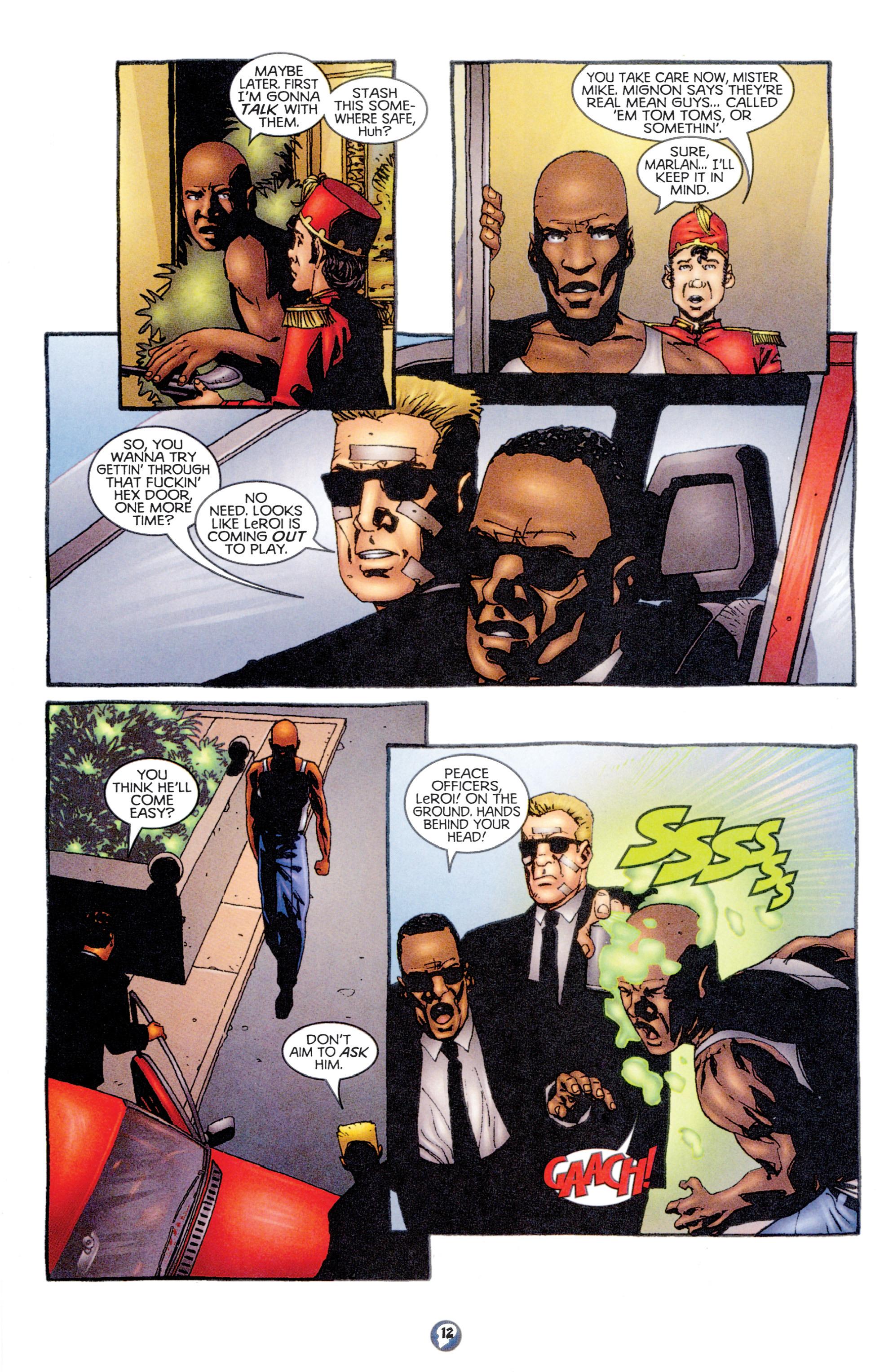 Read online Shadowman (1997) comic -  Issue #12 - 10