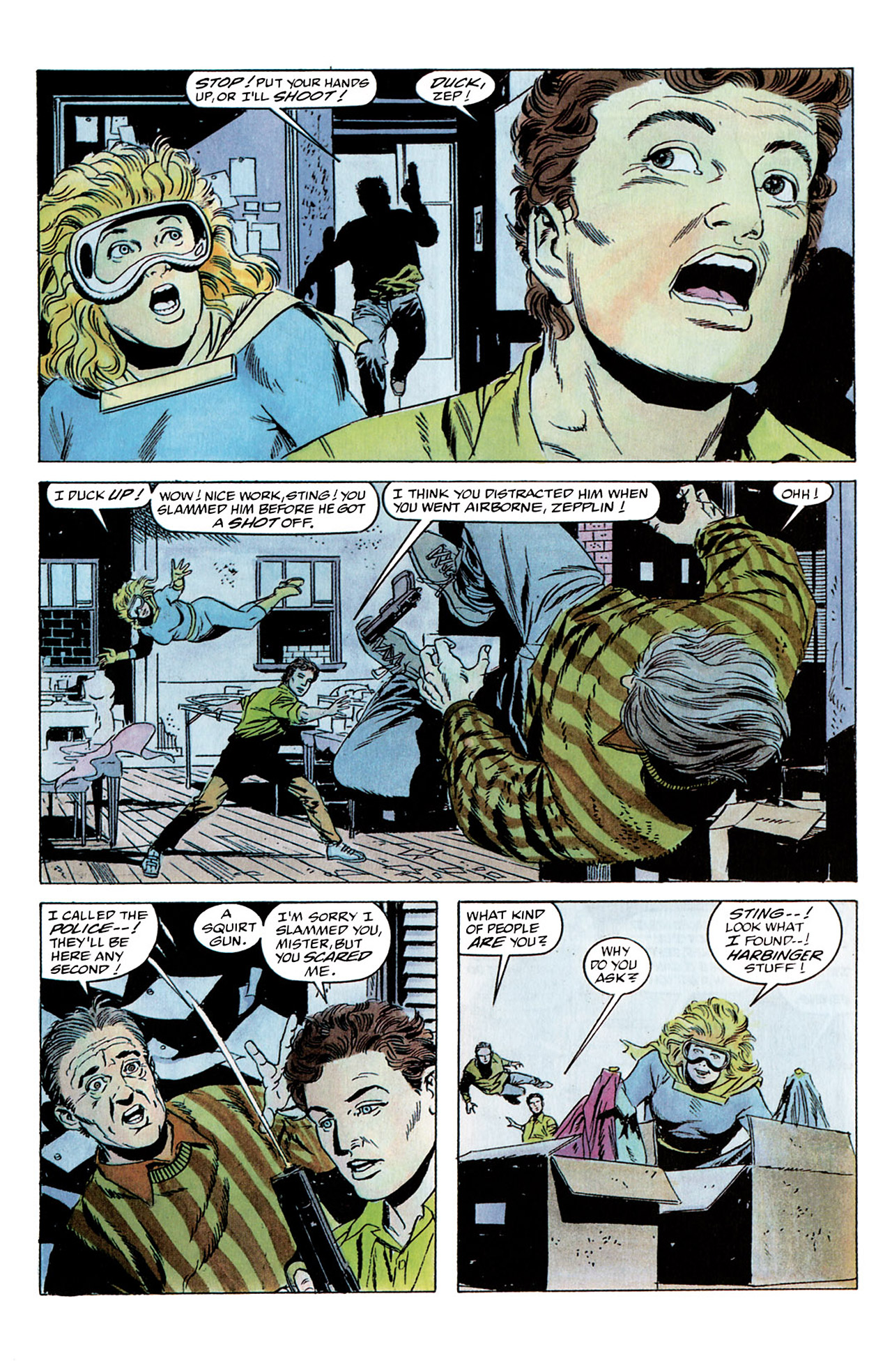 Read online Harbinger (1992) comic -  Issue #2 - 14
