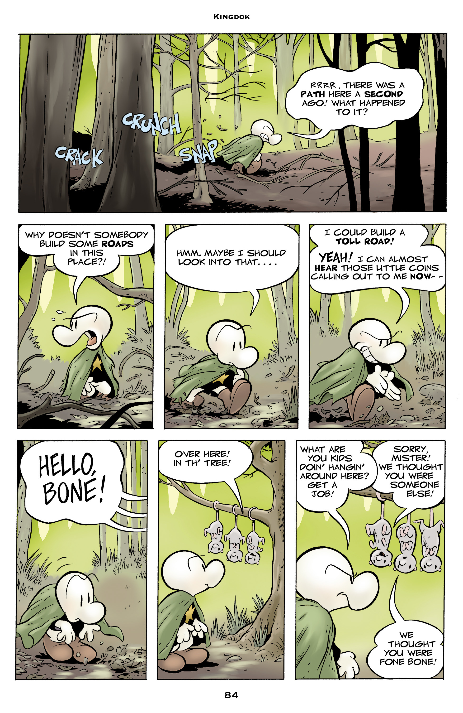 Read online Bone: Out From Boneville comic -  Issue # TPB - 84