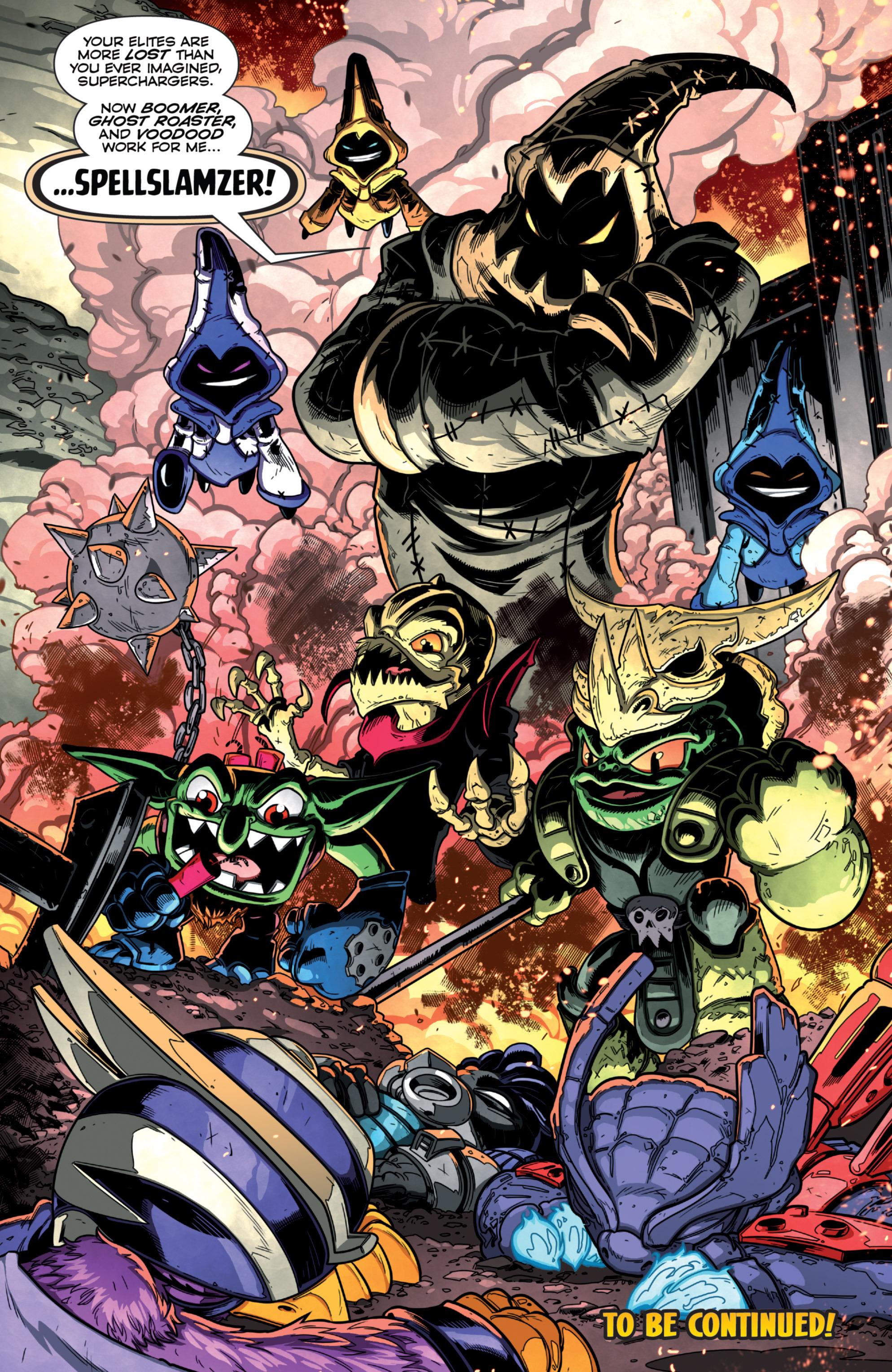 Read online Skylanders Superchargers comic -  Issue #1 - 19