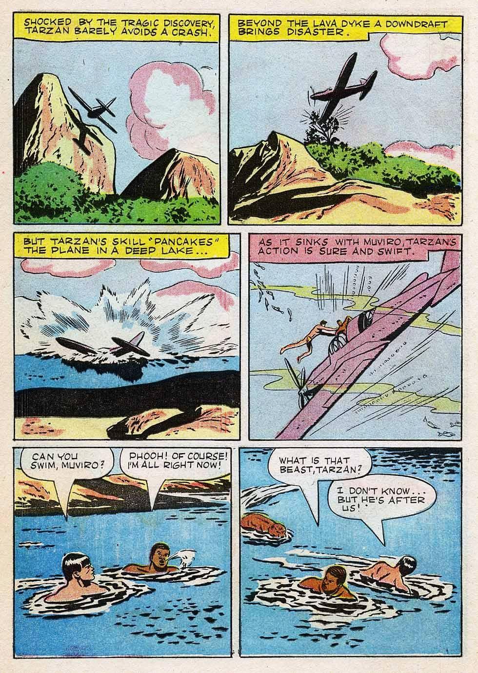 Tarzan (1948) issue 7 - Page 14