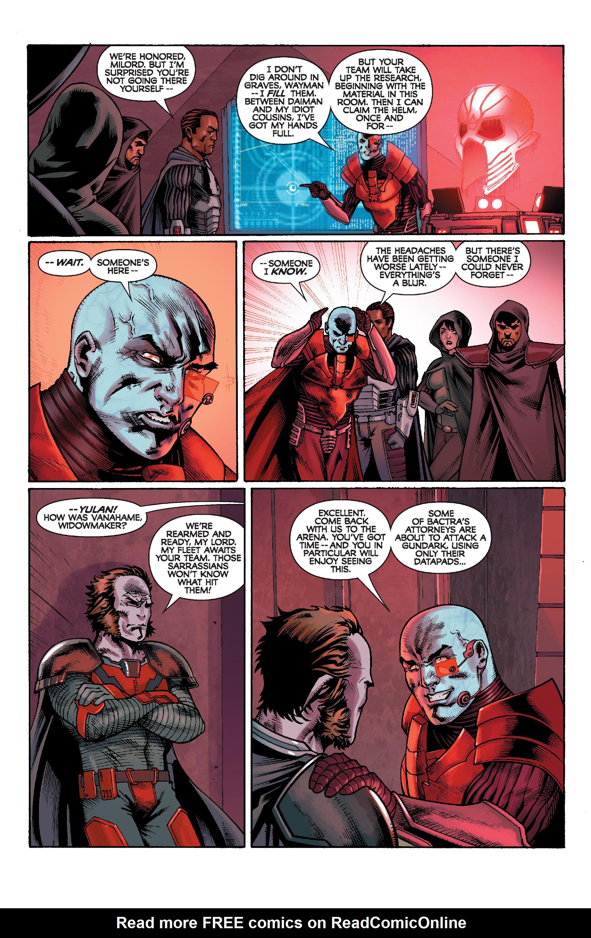 Read online Star Wars: Knight Errant - Escape comic -  Issue #1 - 21