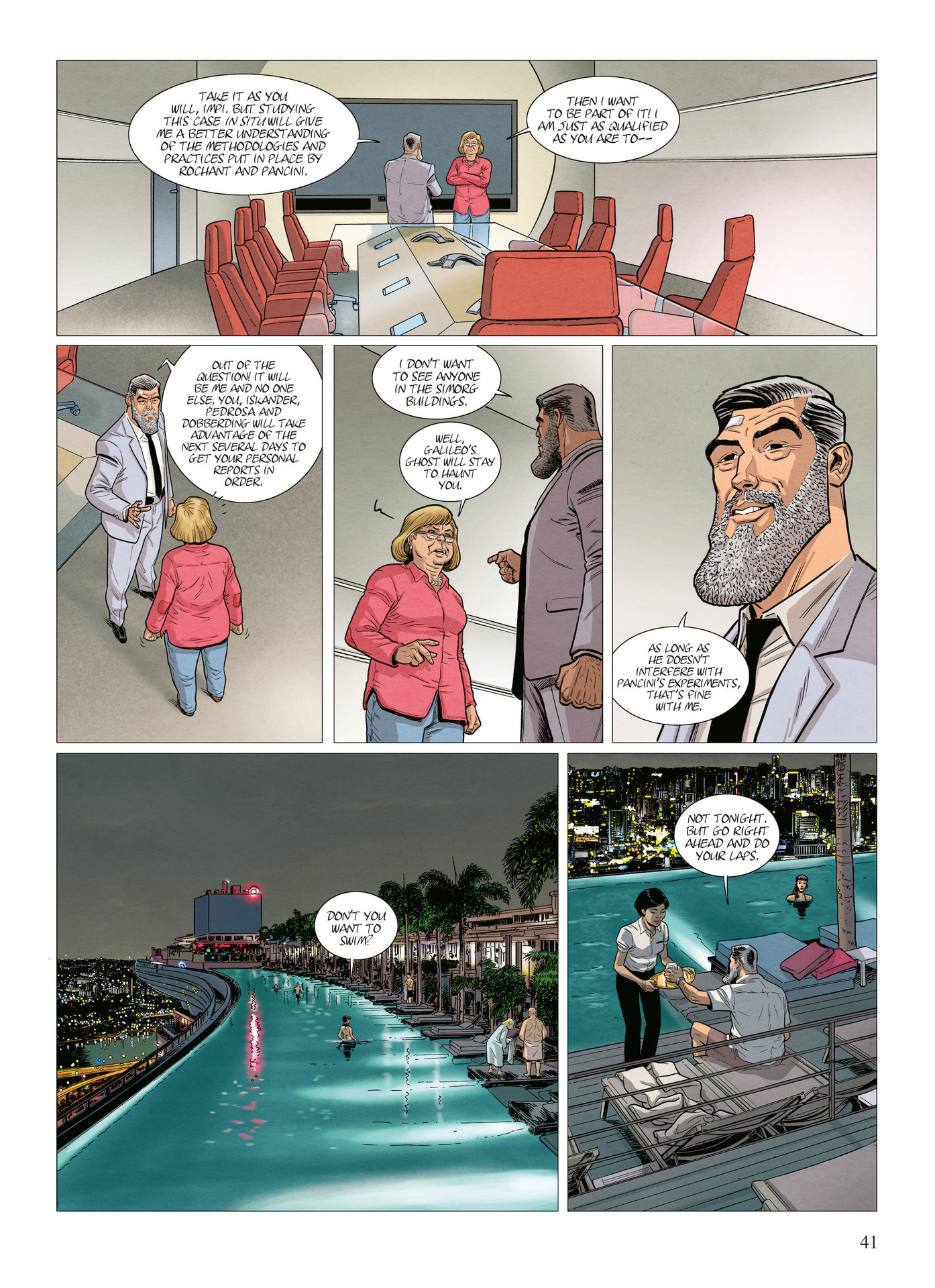 Read online Alter Ego comic -  Issue #10 - 42