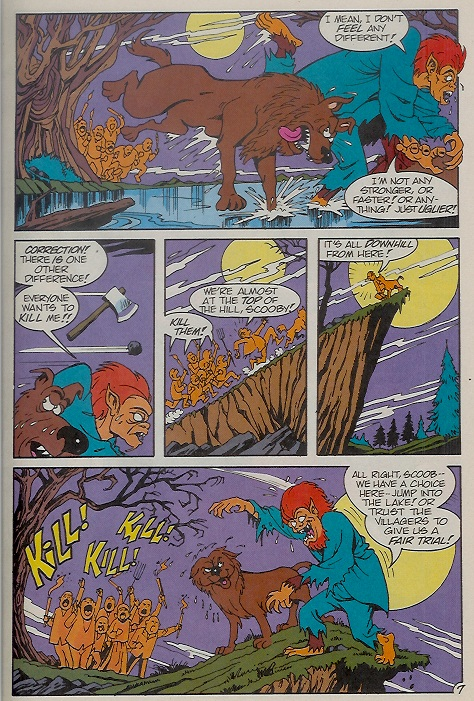 Read online Scooby-Doo (1995) comic -  Issue #9 - 11