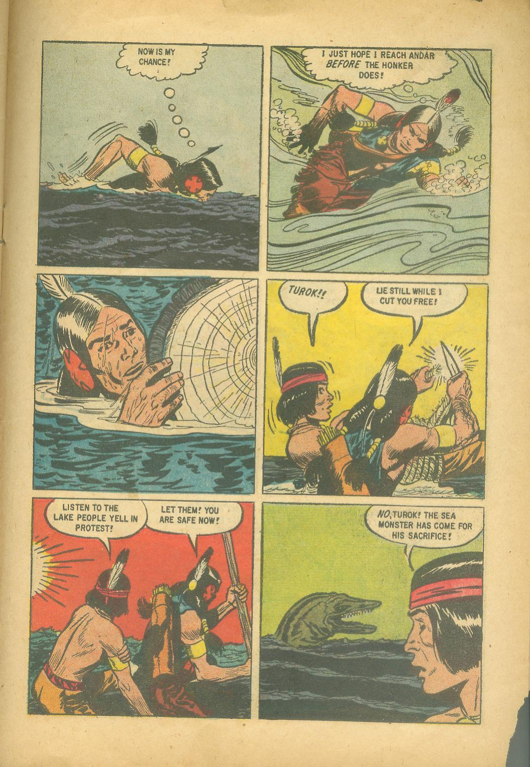 Read online Turok, Son of Stone comic -  Issue #18 - 31
