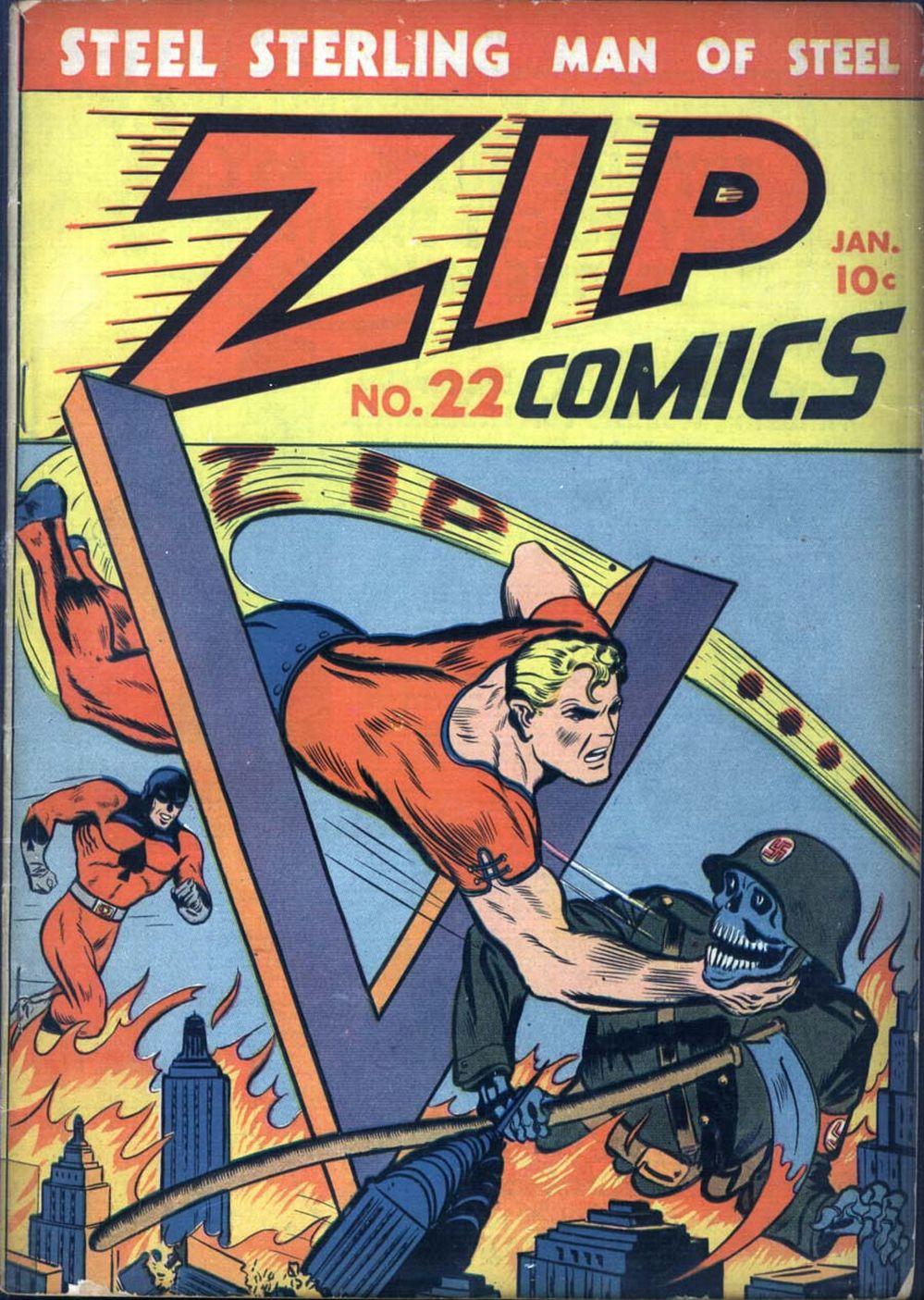 Zip Comics 22 Page 1