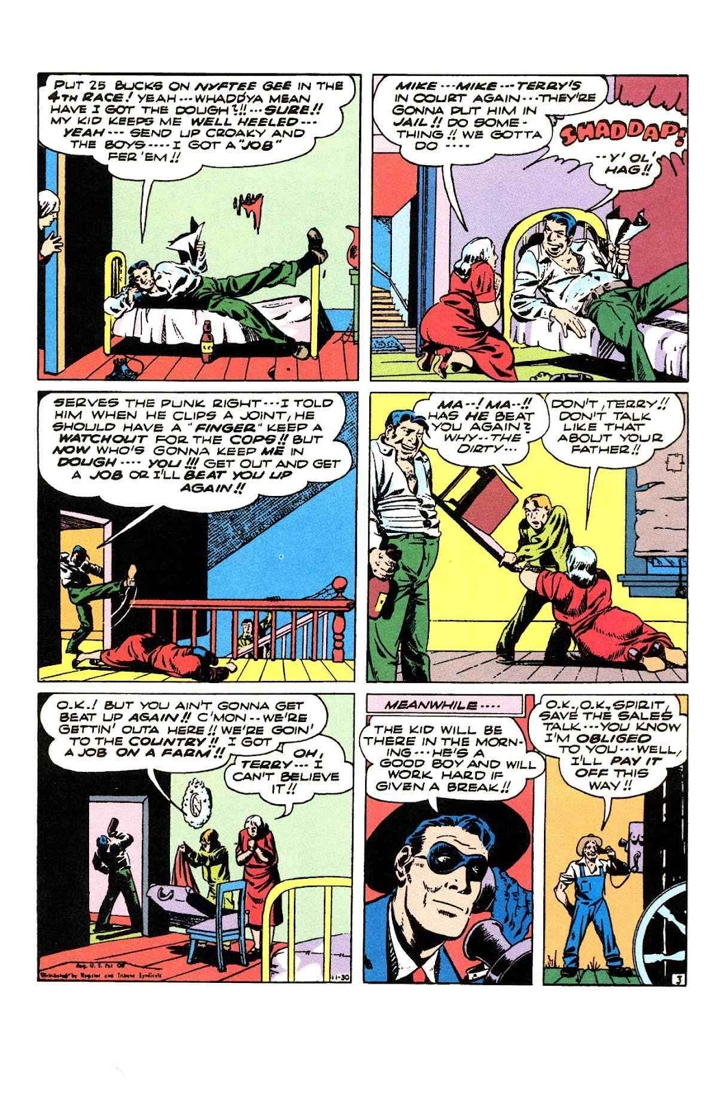 Read online Will Eisner's The Spirit Archives comic -  Issue # TPB 3 (Part 2) - 72