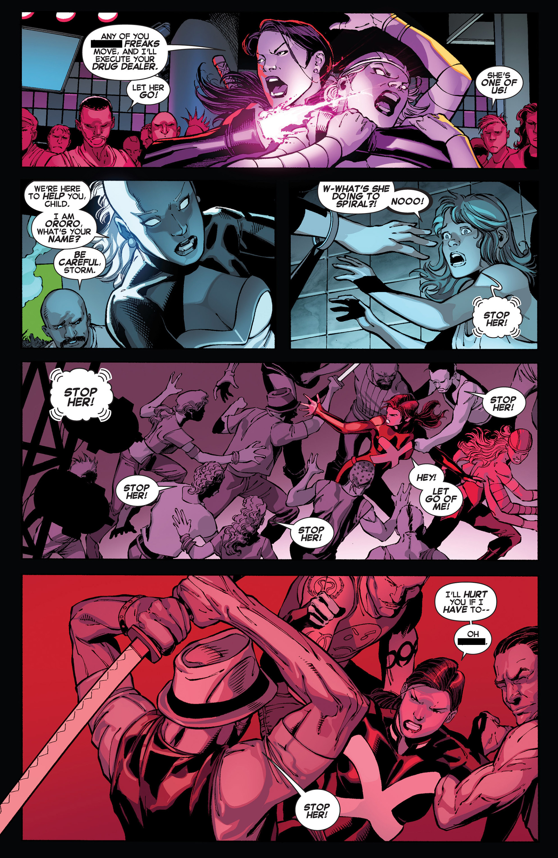 Read online Uncanny X-Force (2013) comic -  Issue #1 - 16