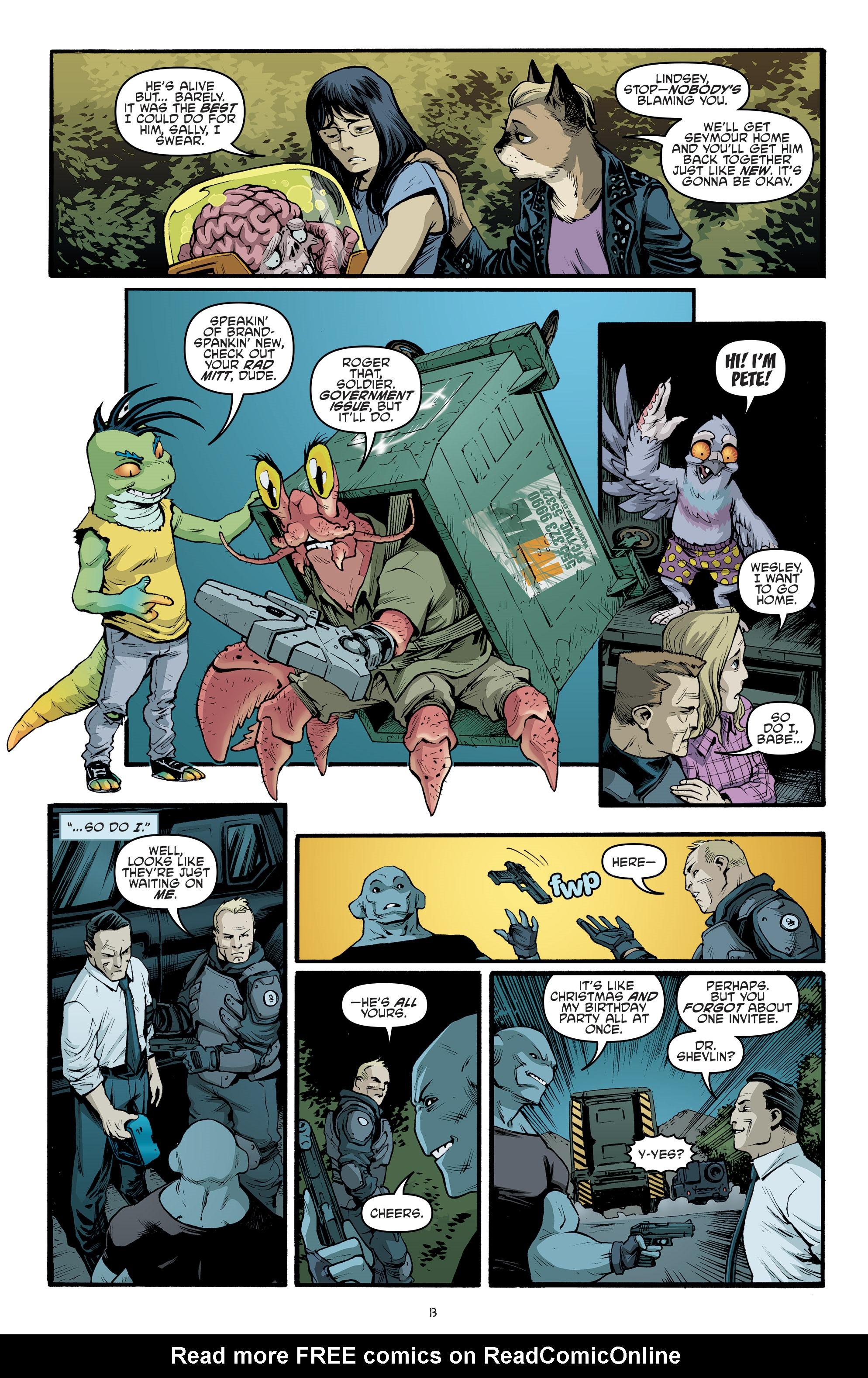 Read online Teenage Mutant Ninja Turtles (2011) comic -  Issue #70 - 15