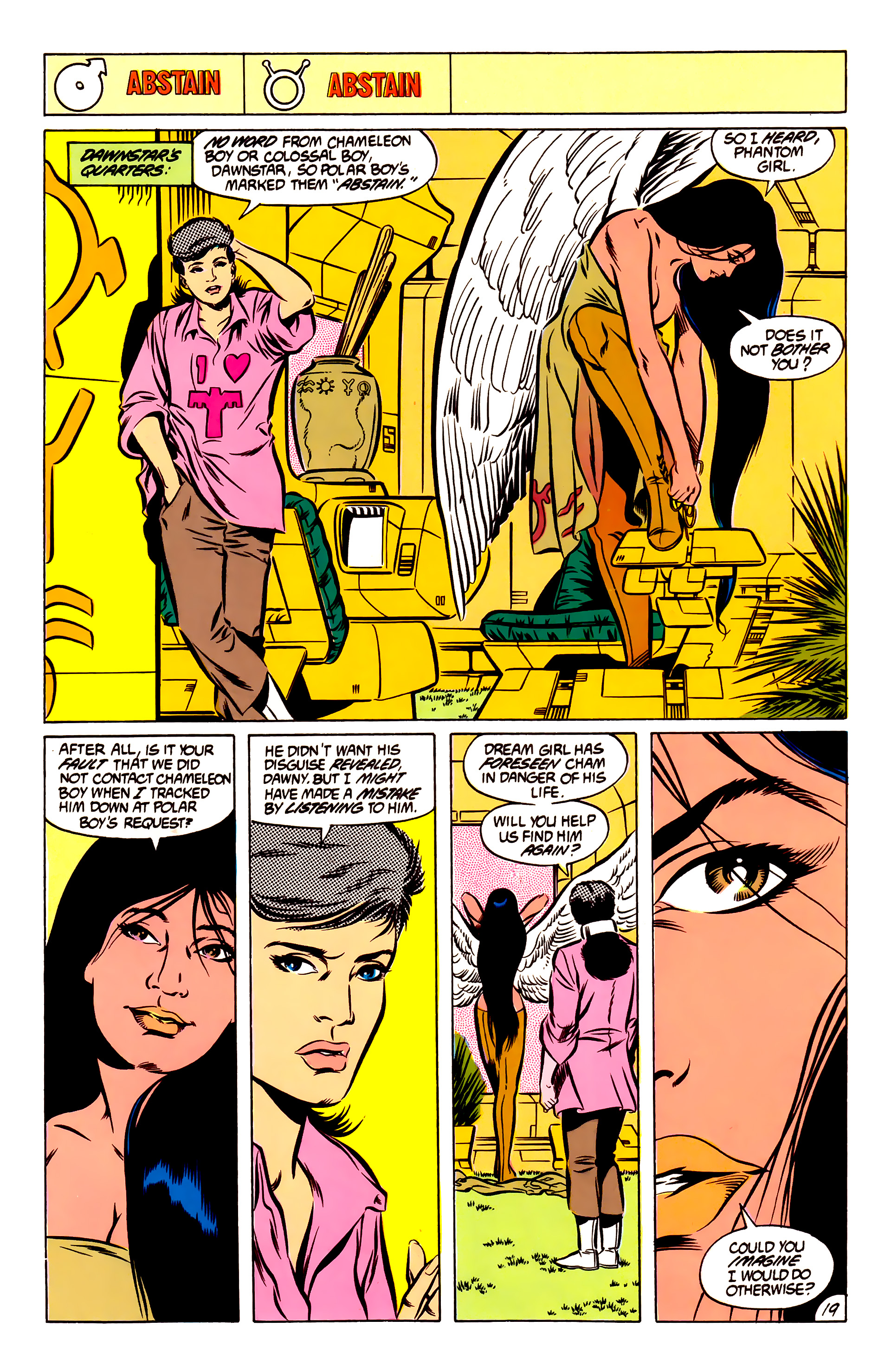 Legion of Super-Heroes (1984) 51 Page 19