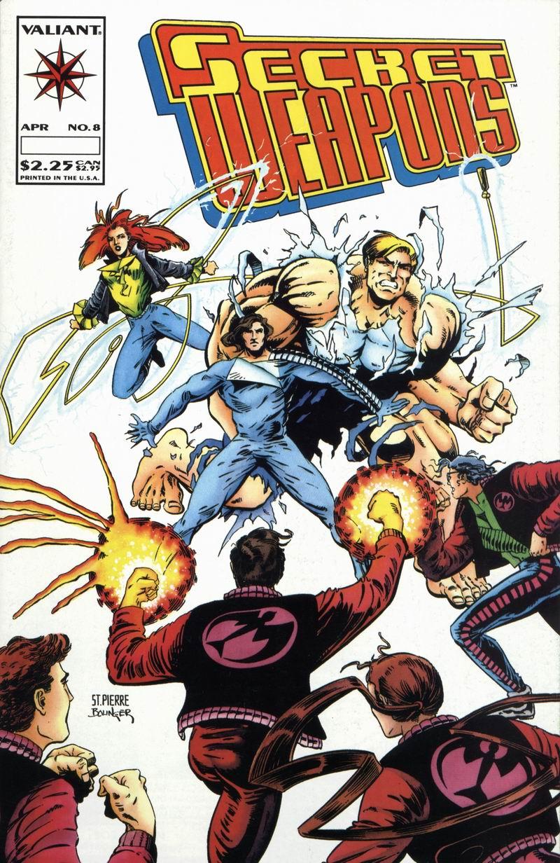 Read online Secret Weapons comic -  Issue #8 - 1