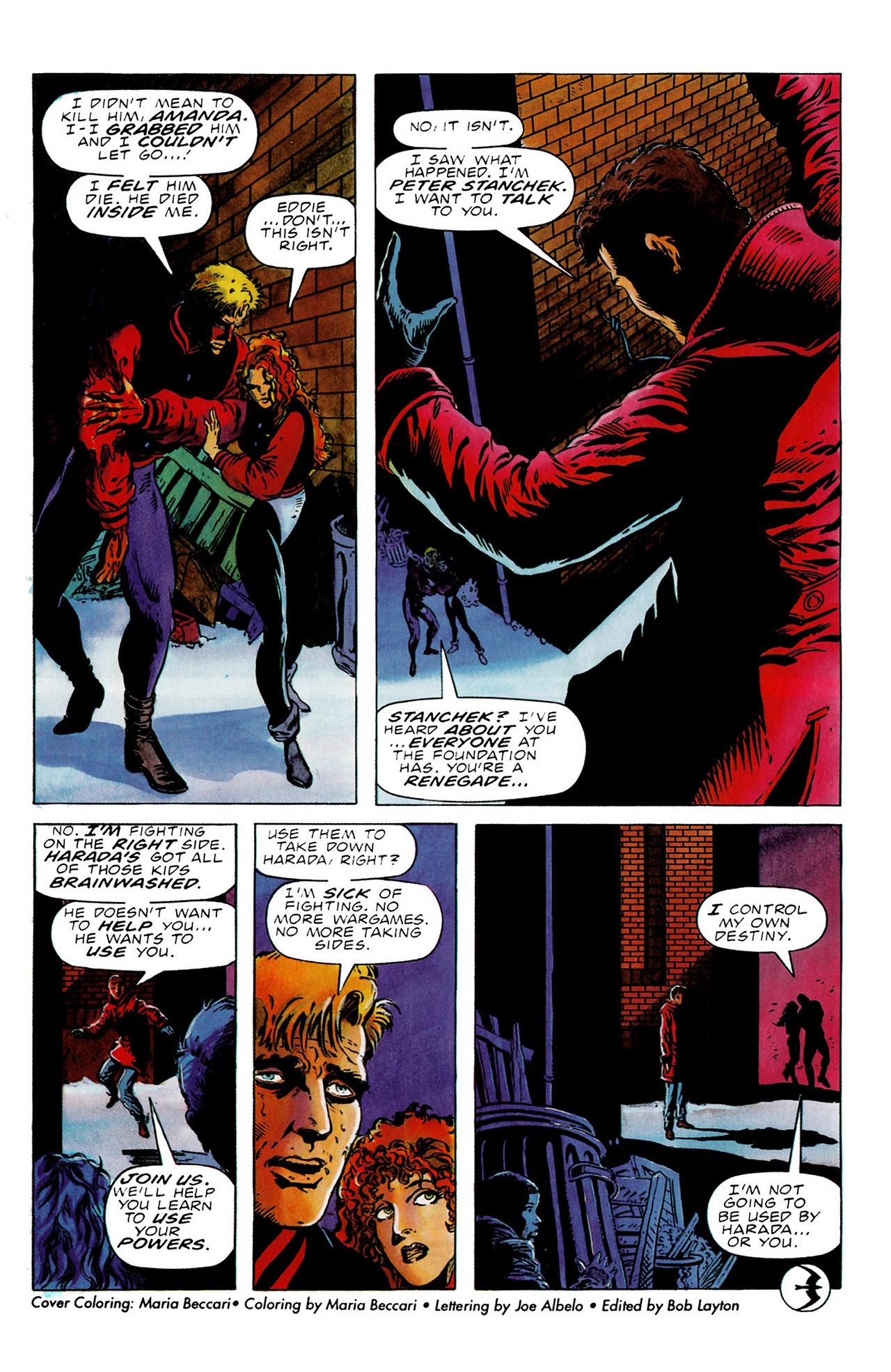 Read online Harbinger (1992) comic -  Issue #16 - 22