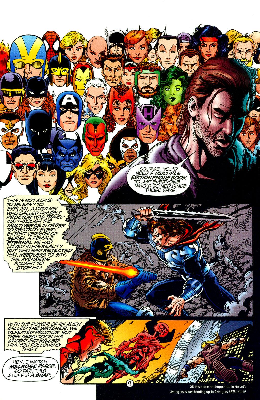 Read online UltraForce (1994) comic -  Issue #8 - 9