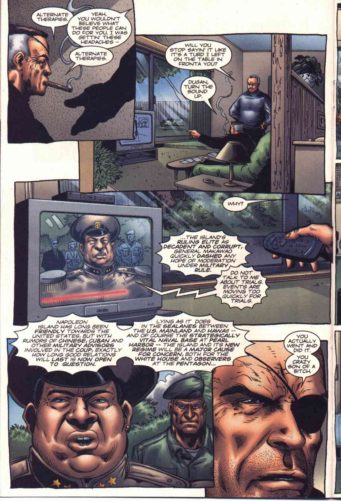 Read online Fury comic -  Issue #2 - 10