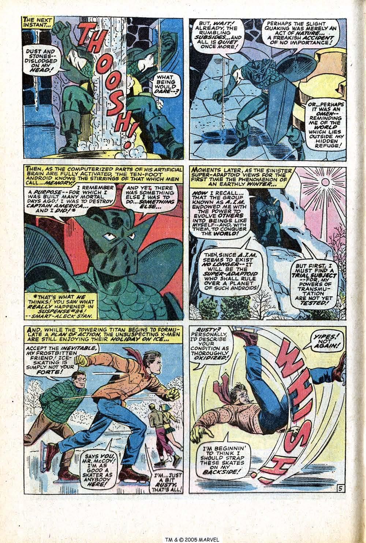 Read online Uncanny X-Men (1963) comic -  Issue #77 - 8