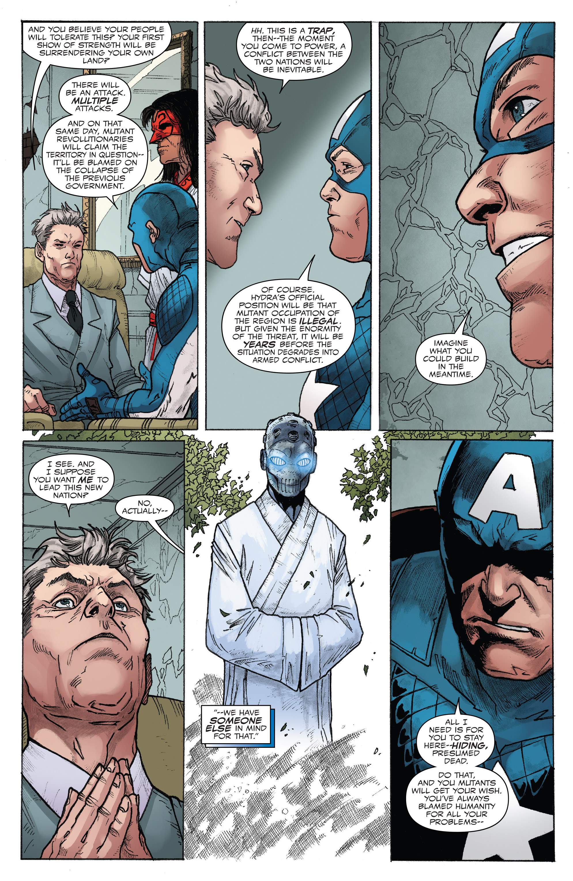 Read online Captain America: Steve Rogers comic -  Issue #17 - 15