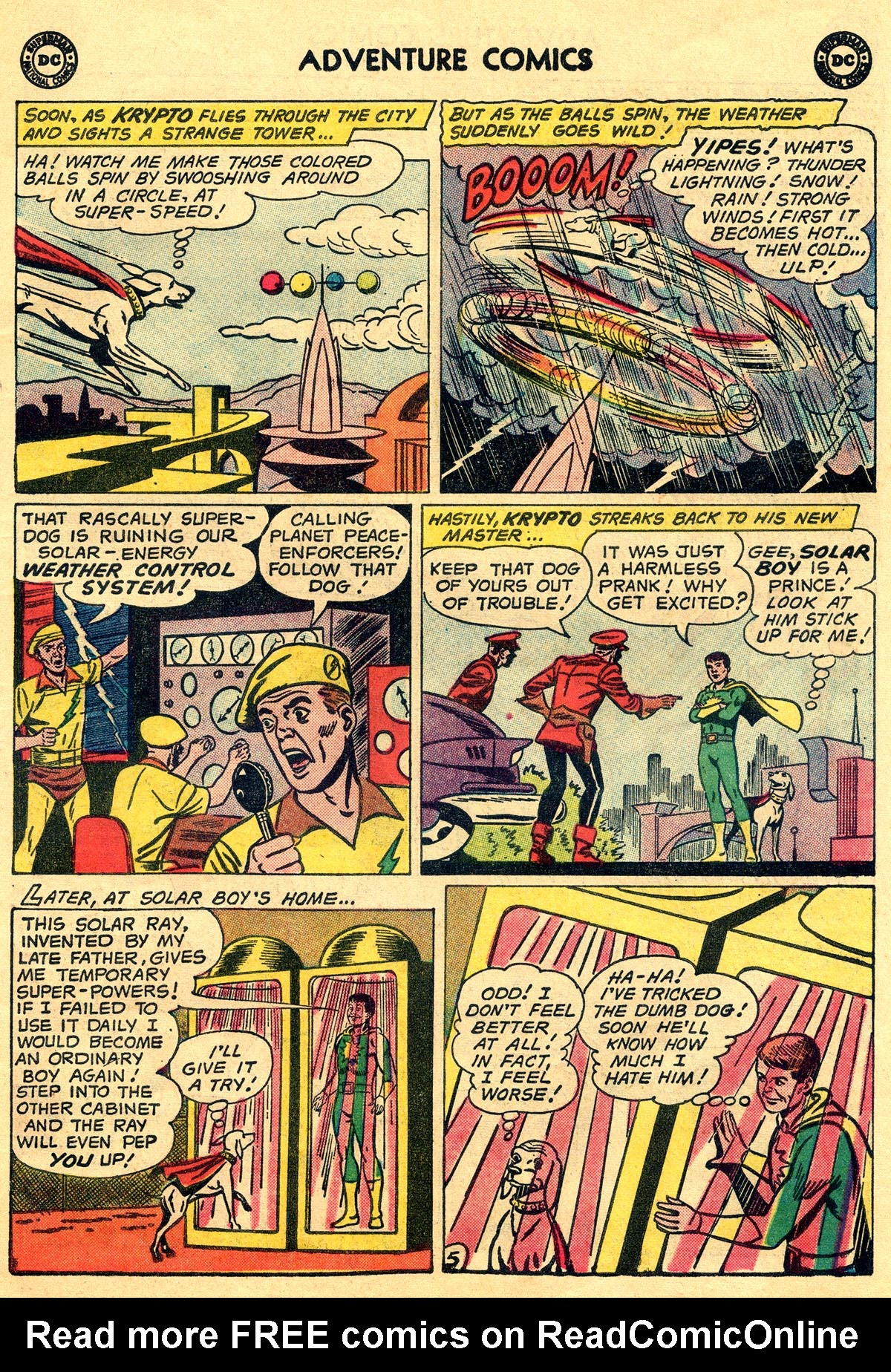 Read online Adventure Comics (1938) comic -  Issue #269 - 7