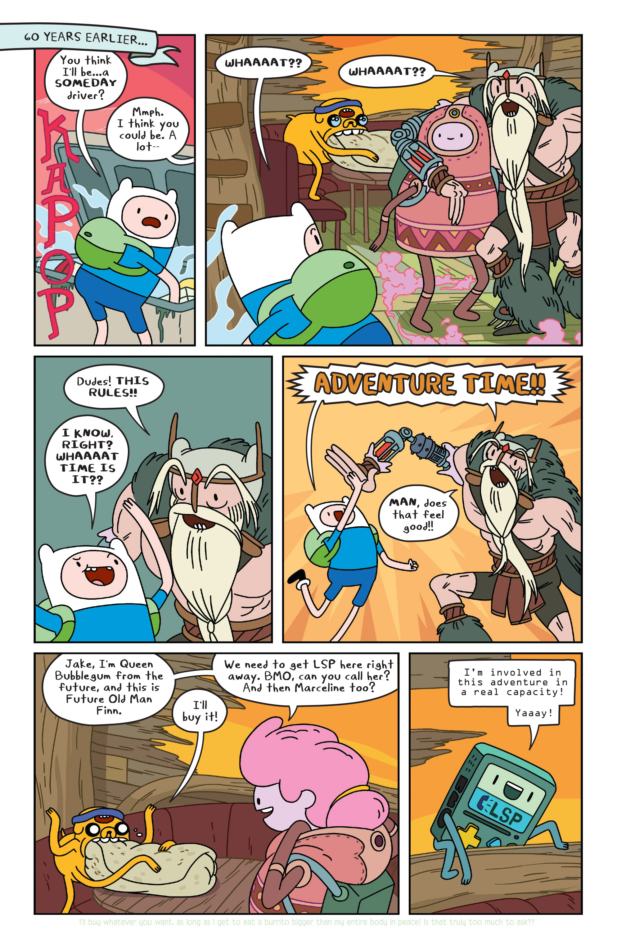 Read online Adventure Time comic -  Issue #34 - 13