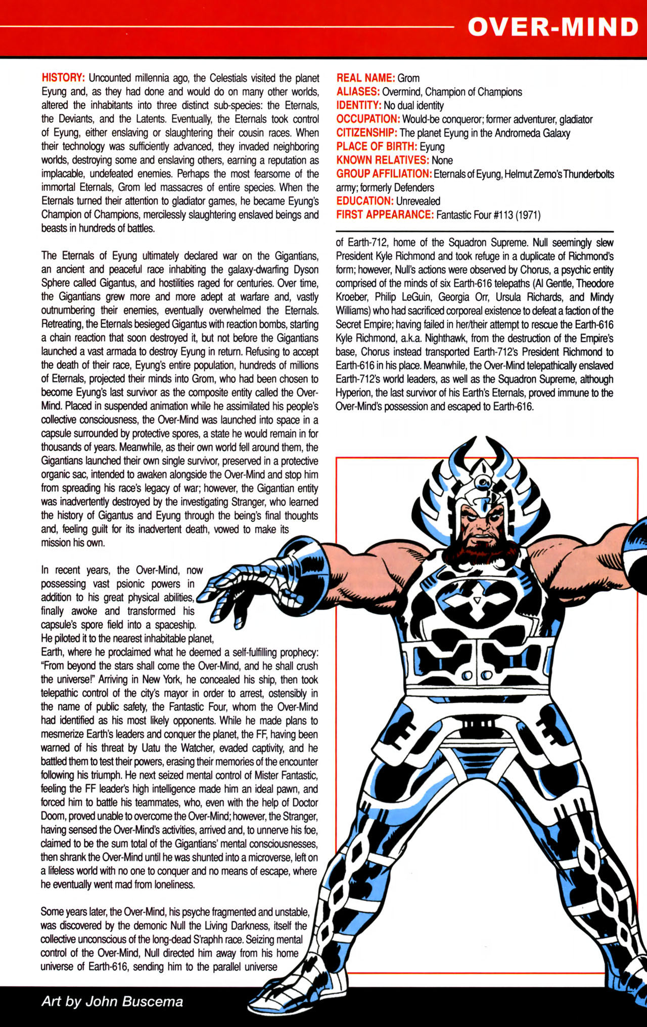 Read online All-New Official Handbook of the Marvel Universe A to Z comic -  Issue #8 - 31