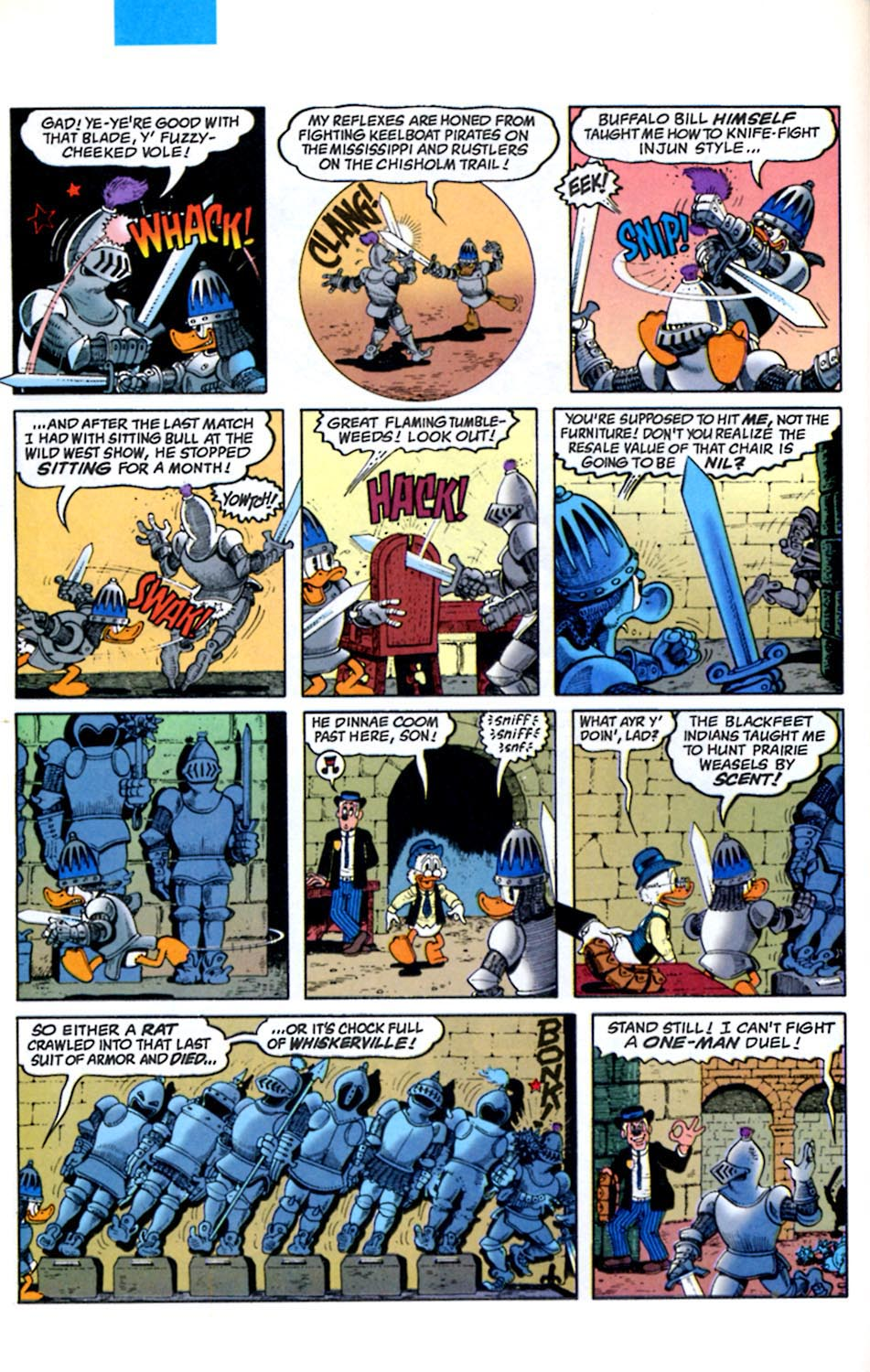 Read online Uncle Scrooge (1953) comic -  Issue #289 - 8