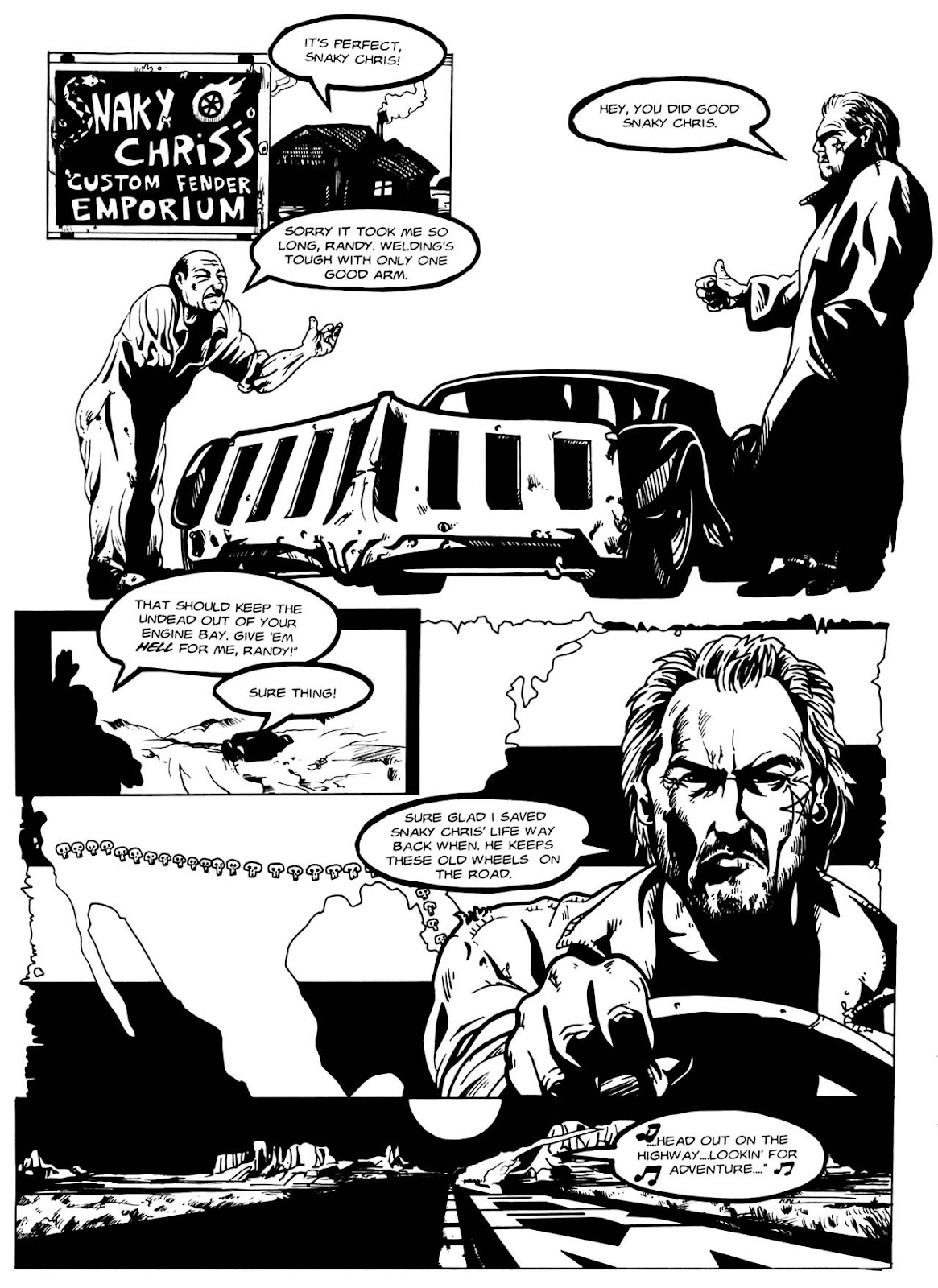 Read online Night of the Living Dead (1994) comic -  Issue #2 - 12