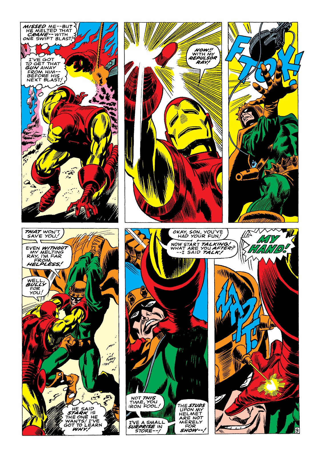 Read online Marvel Masterworks: The Invincible Iron Man comic -  Issue # TPB 4 (Part 1) - 80