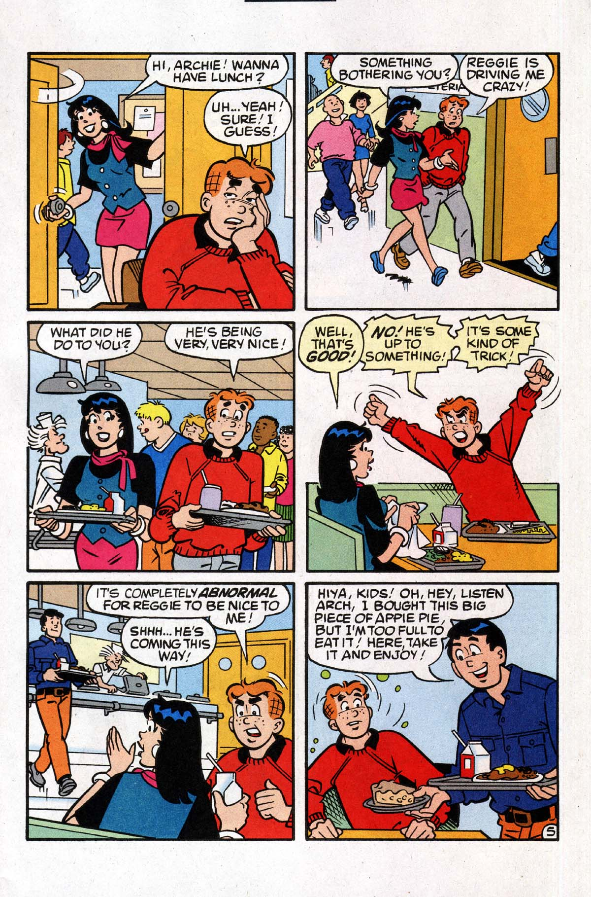 Read online Archie (1960) comic -  Issue #531 - 6