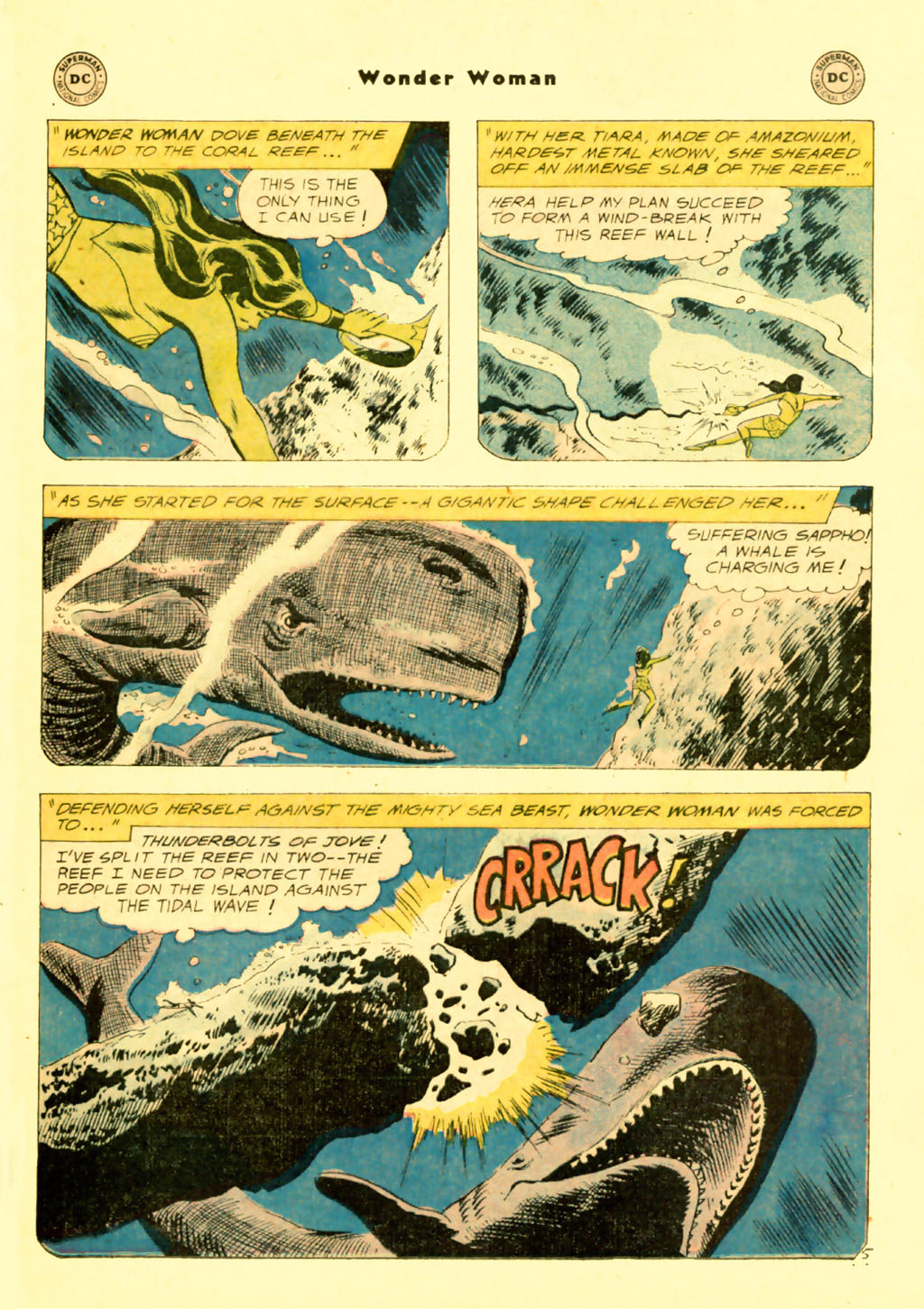 Read online Wonder Woman (1942) comic -  Issue #103 - 7