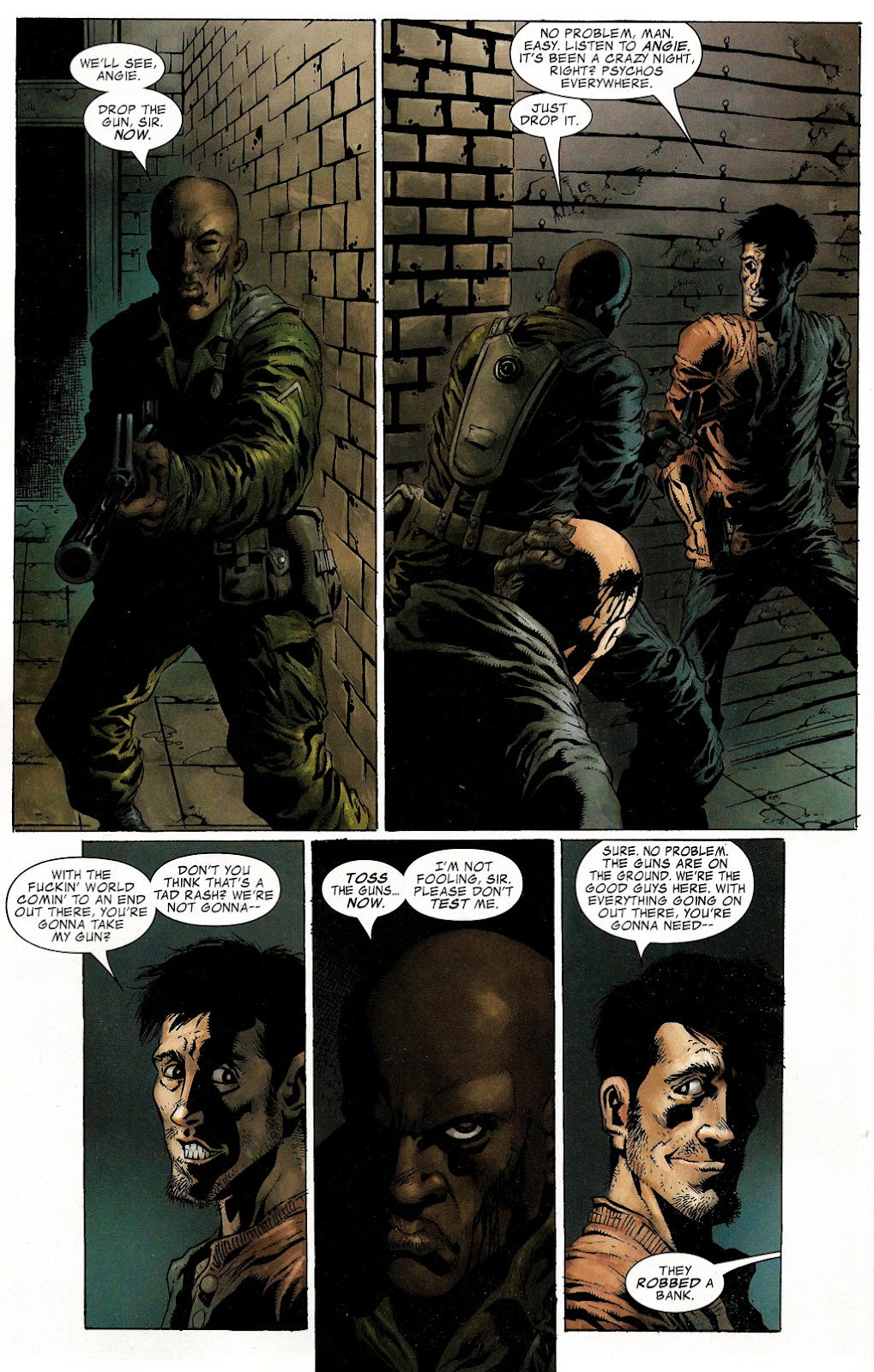 Read online Zombie (2006) comic -  Issue #1 - 20