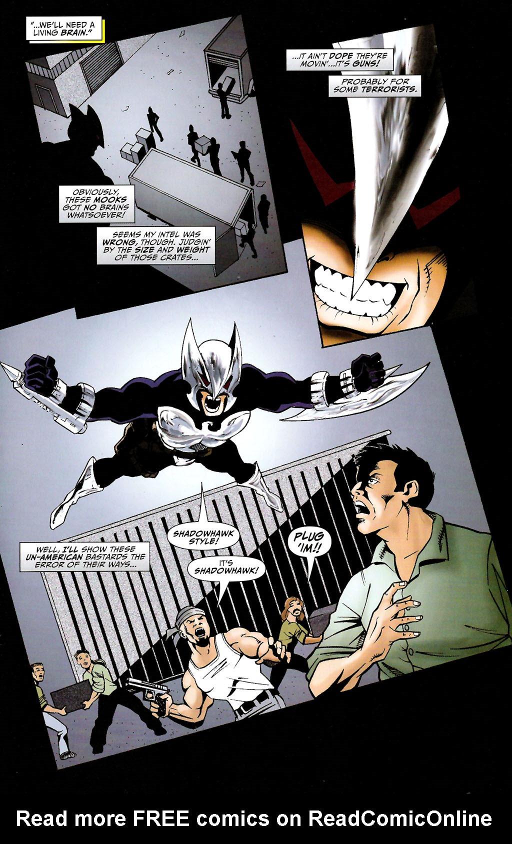 Read online ShadowHawk (2005) comic -  Issue #11 - 17