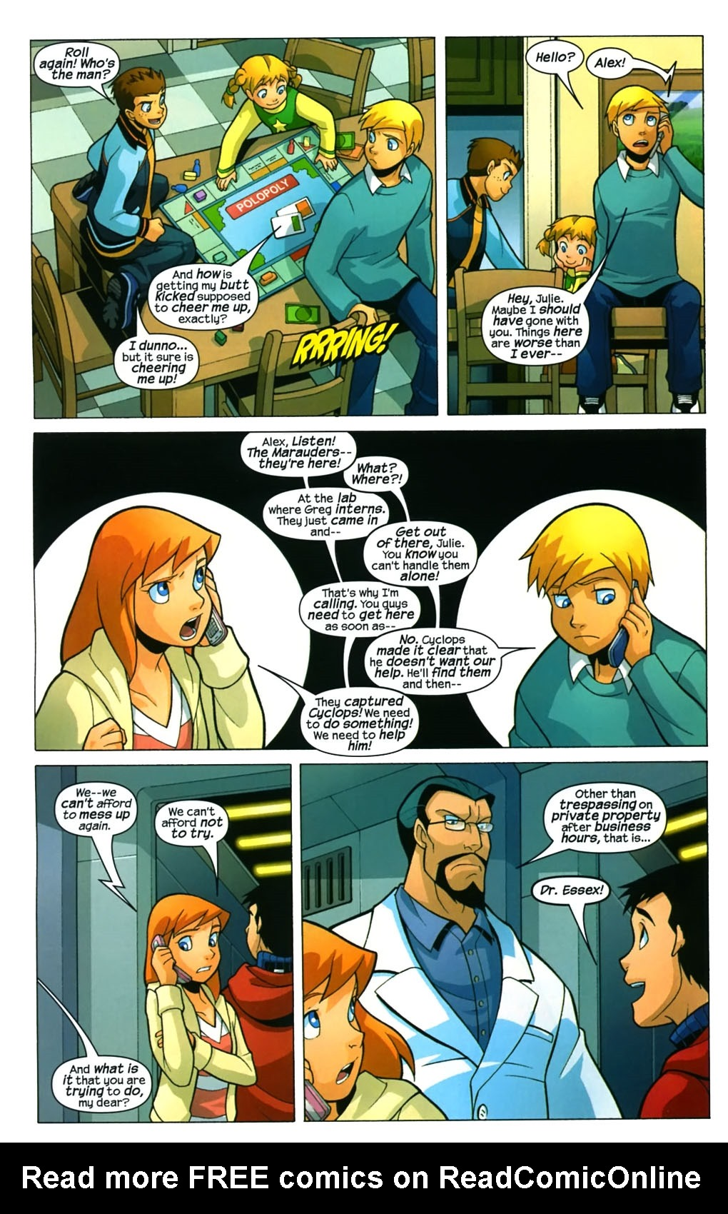 Read online X-Men and Power Pack comic -  Issue #4 - 14